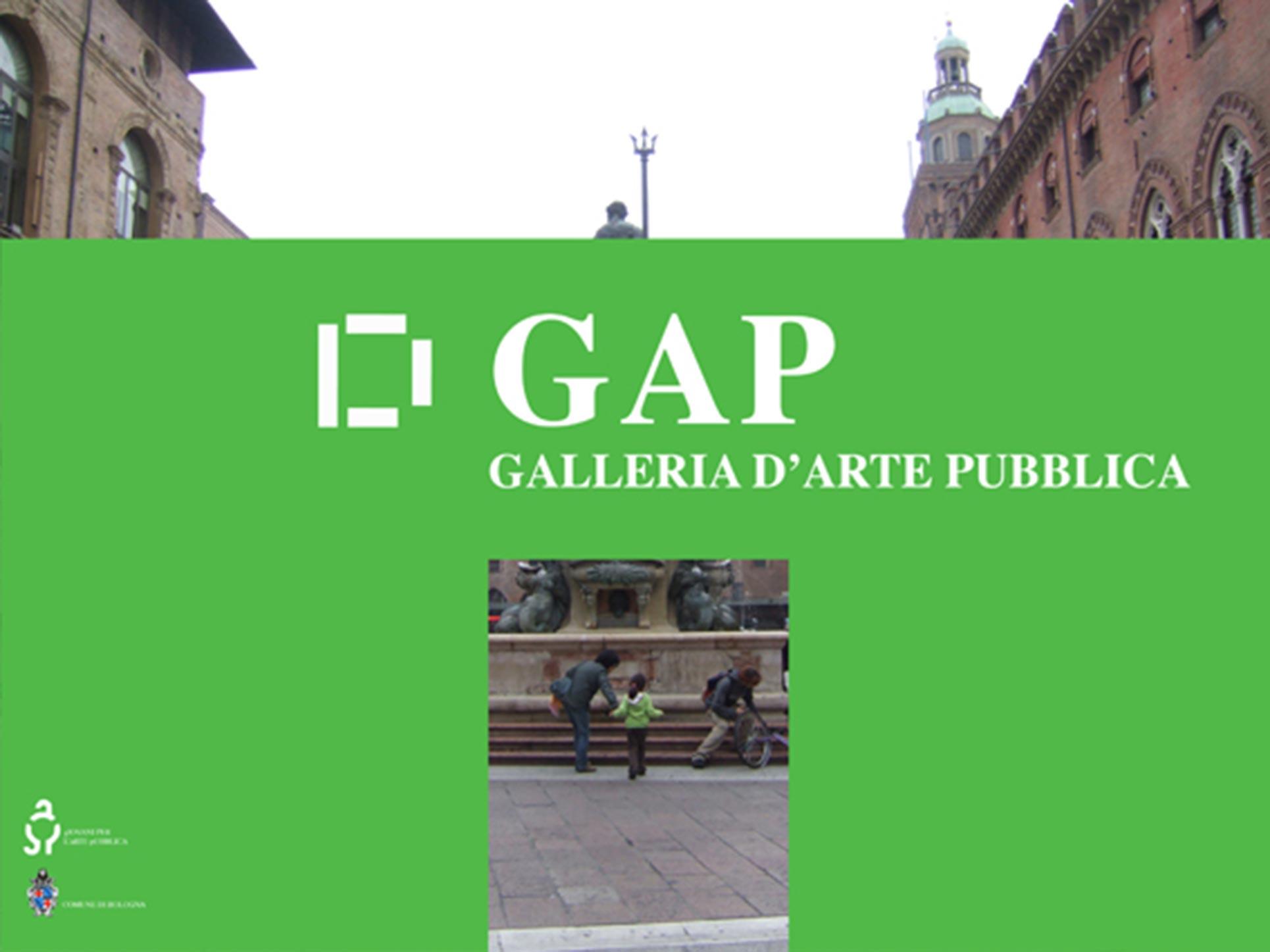 GAP, Galleria d'arte pubblica, proposal of the GAP Young artists Workshop, 2008 Bologna