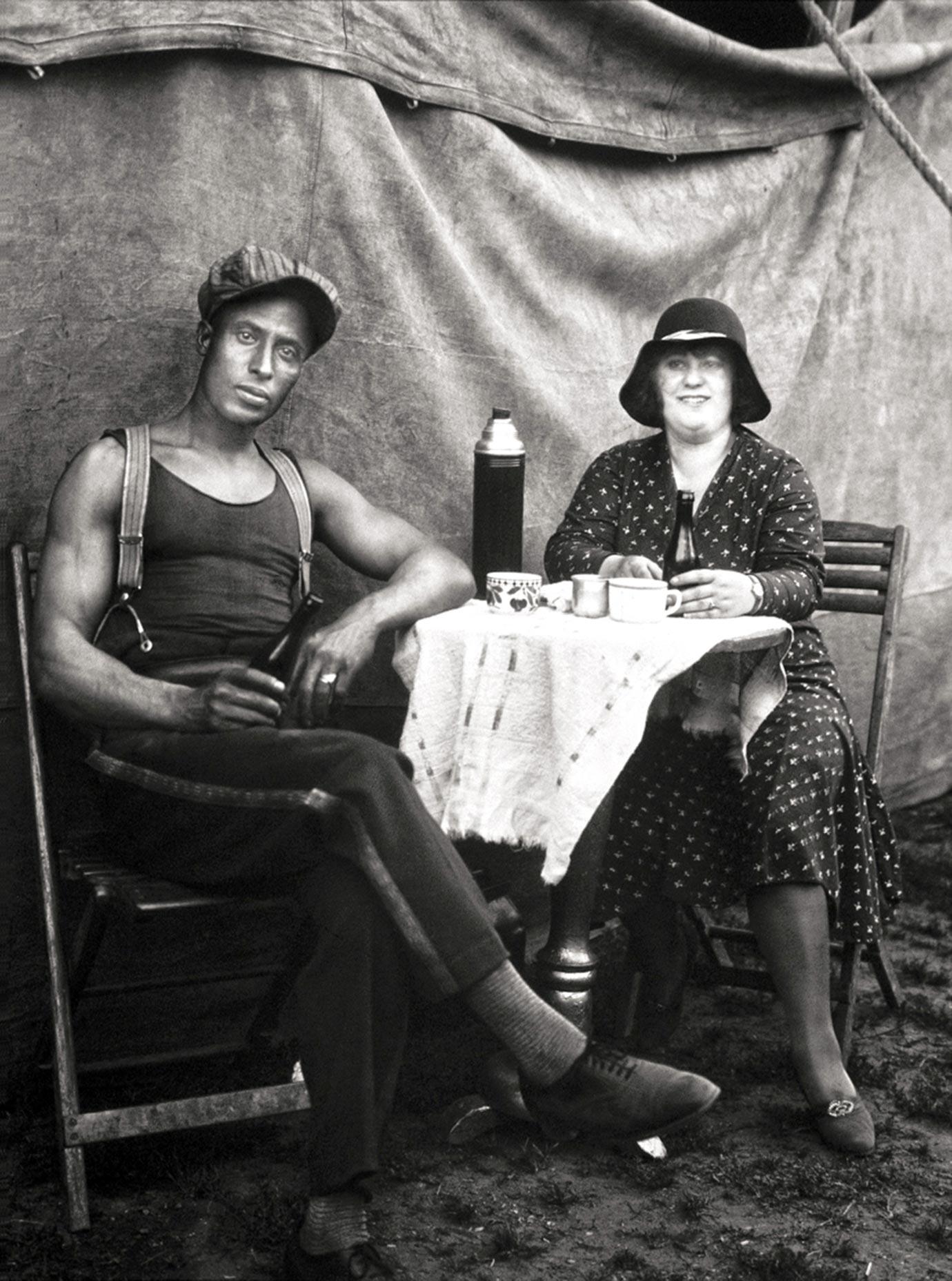 Zirkusartisten, 1926, August Sander