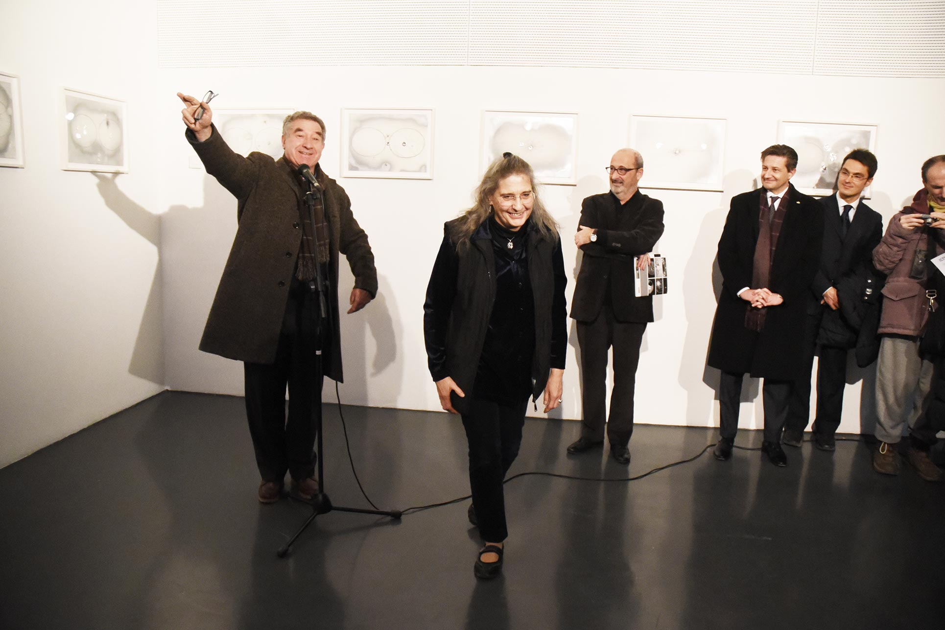Guido Magnaguagno, Penelope M. Mackworth-Praed, Domenico Lucchini (Photo: Anna Pfeiffer)