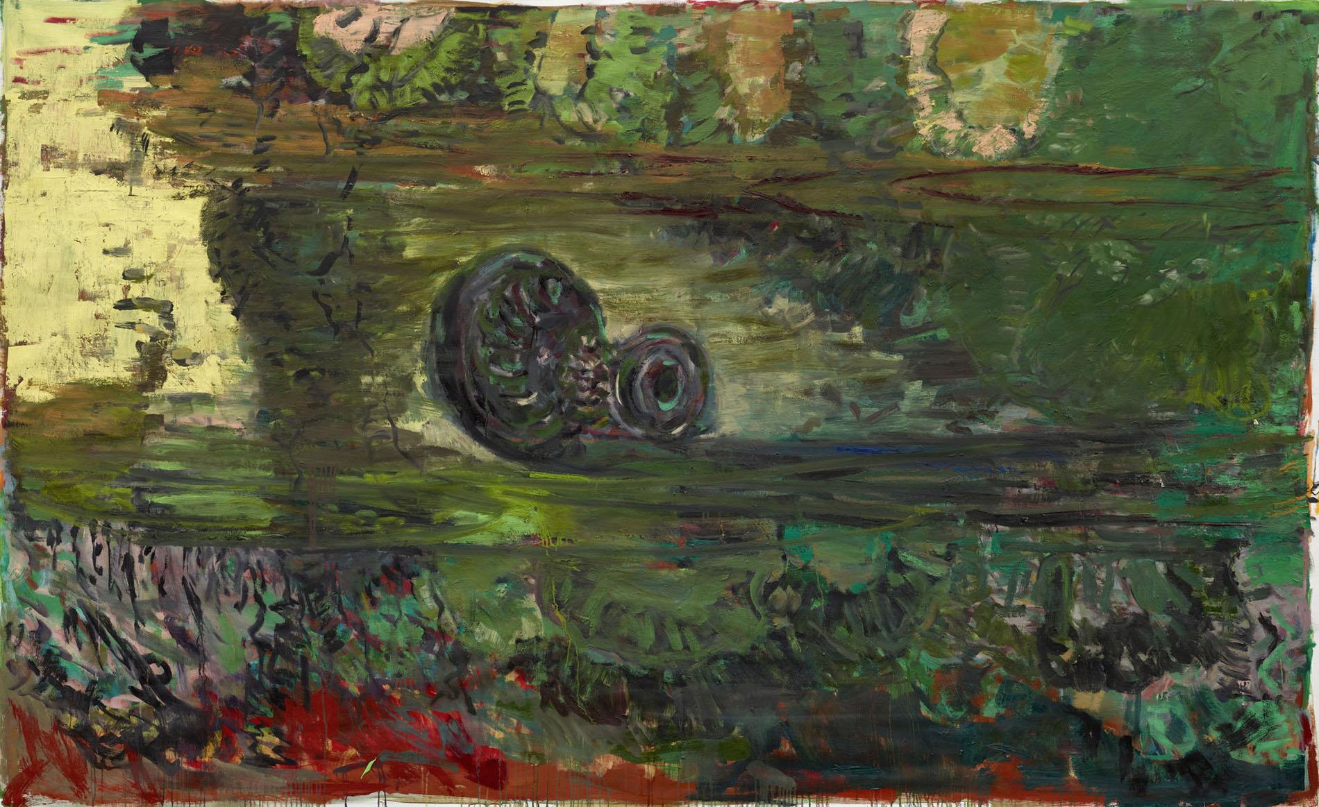Per Kirkeby, Ohne Titel, 2012, Öl auf Leinwand