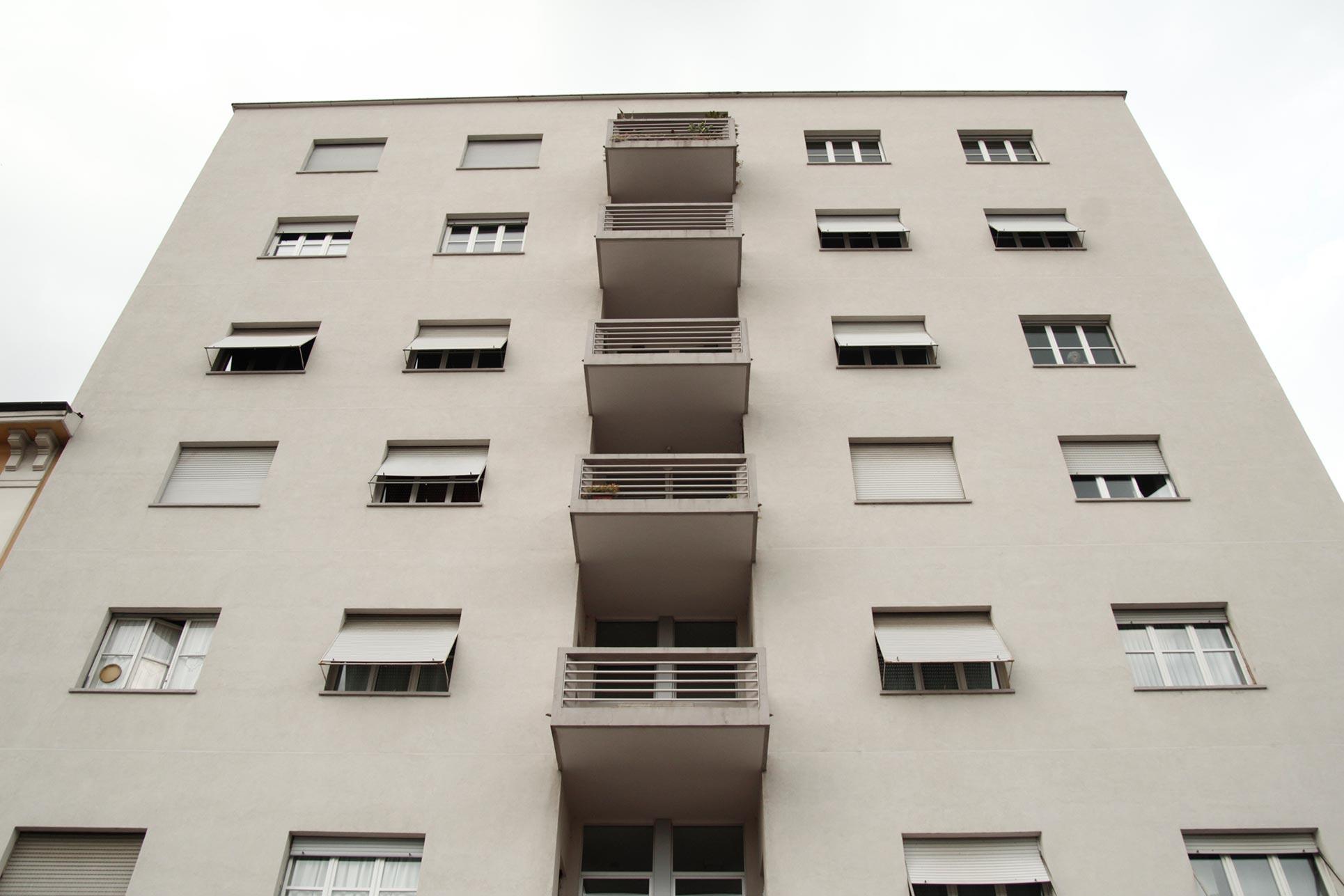 Casa Rustici Comolli, 1938, Giuseppe Terragni (Photo: Barbara Fässler)