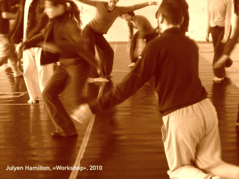 Julyen Hamilton, Workshop, videostill