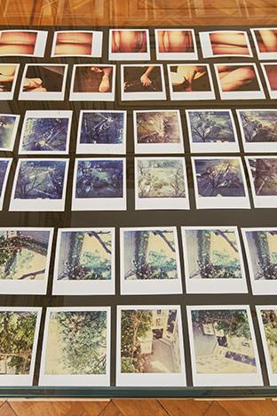 """Hannah Villiger, Polaroid originali (anni Ottanta e Novanta) Works/Sculptural"""", installation view at Istituto Svizzero, Roma. Photo: ©OKNO studio"""