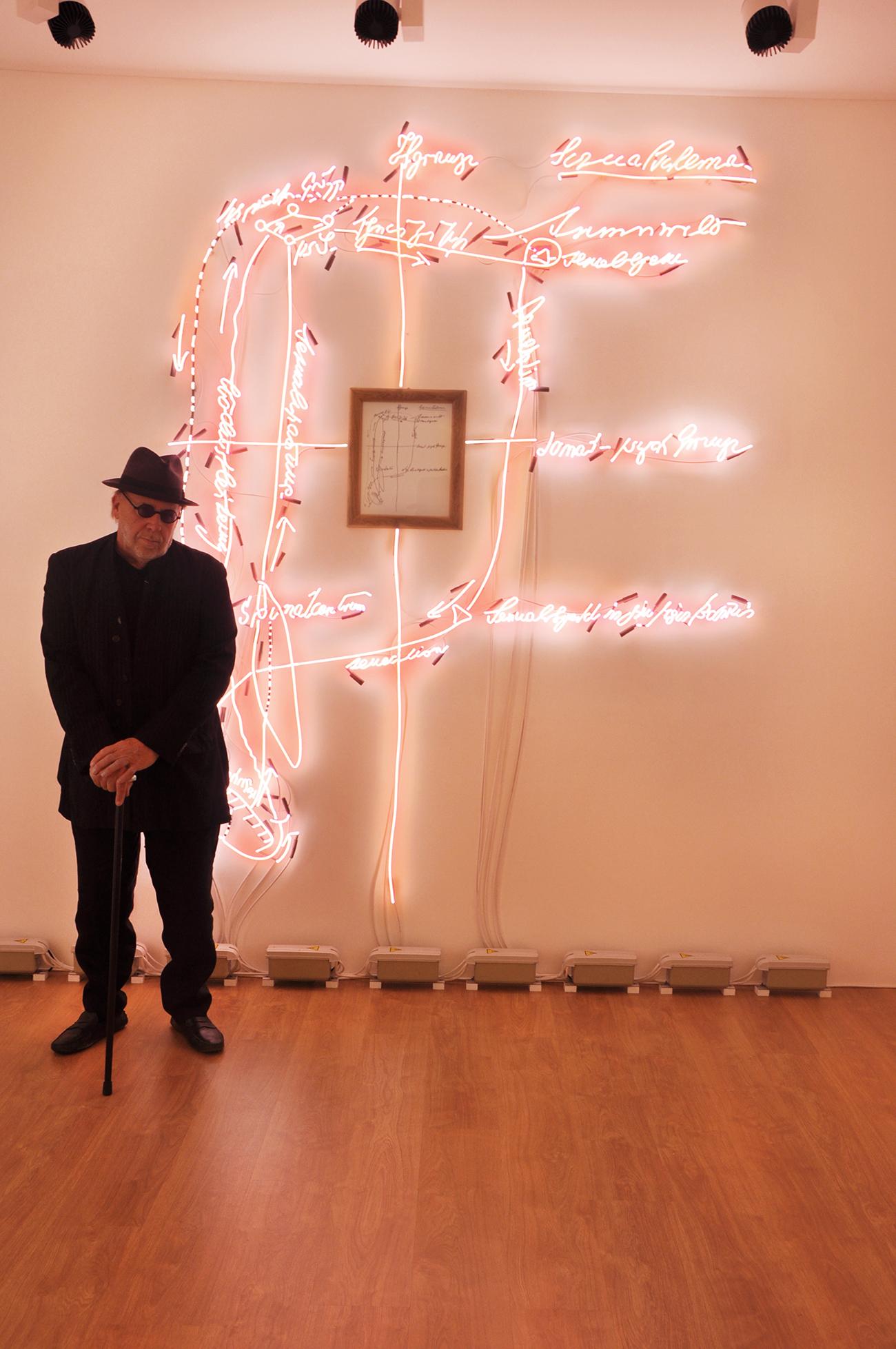Joseph Kosuth, A Conditioning of Consciousness