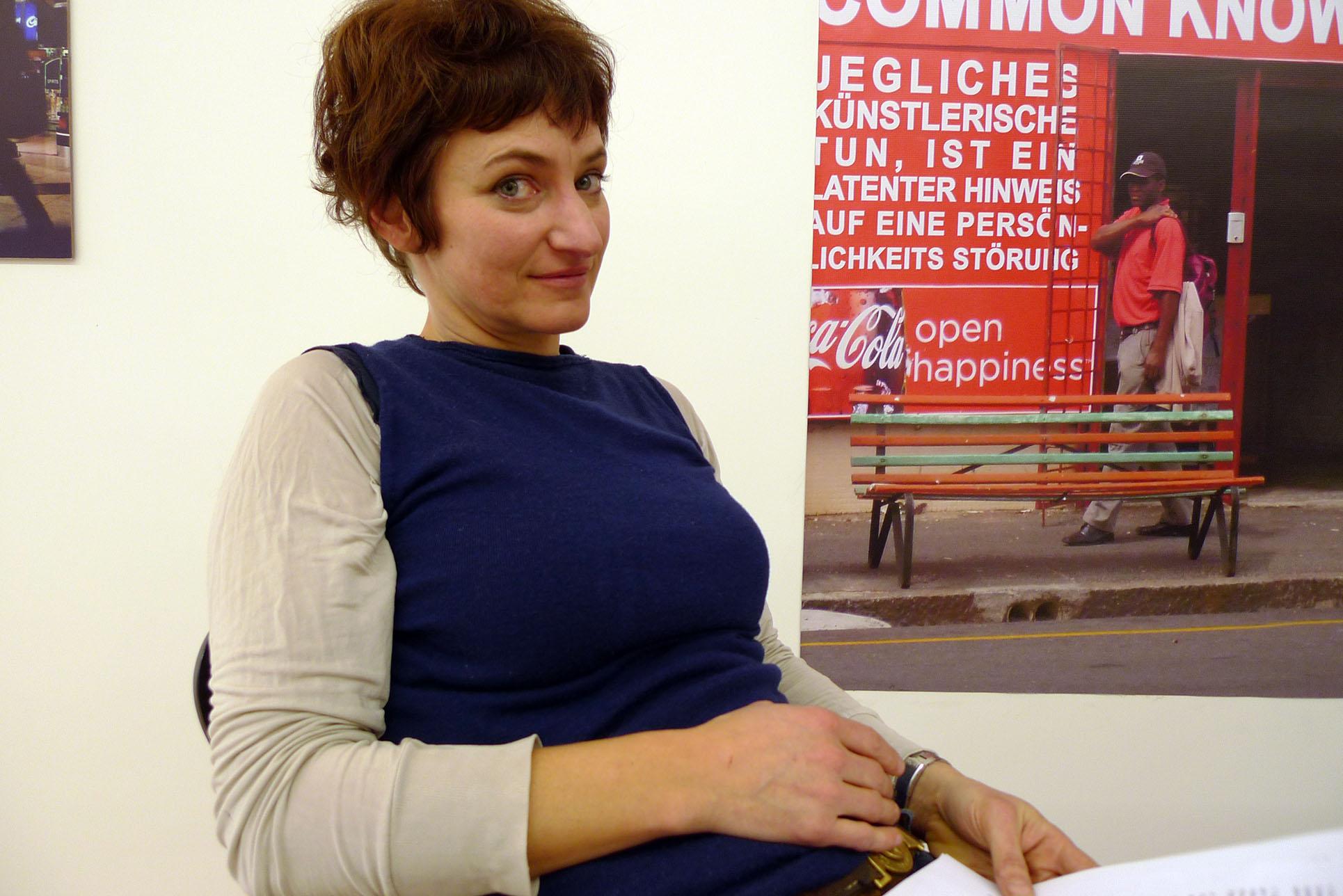 Irène Hug (Photo: Barbara Fässler)