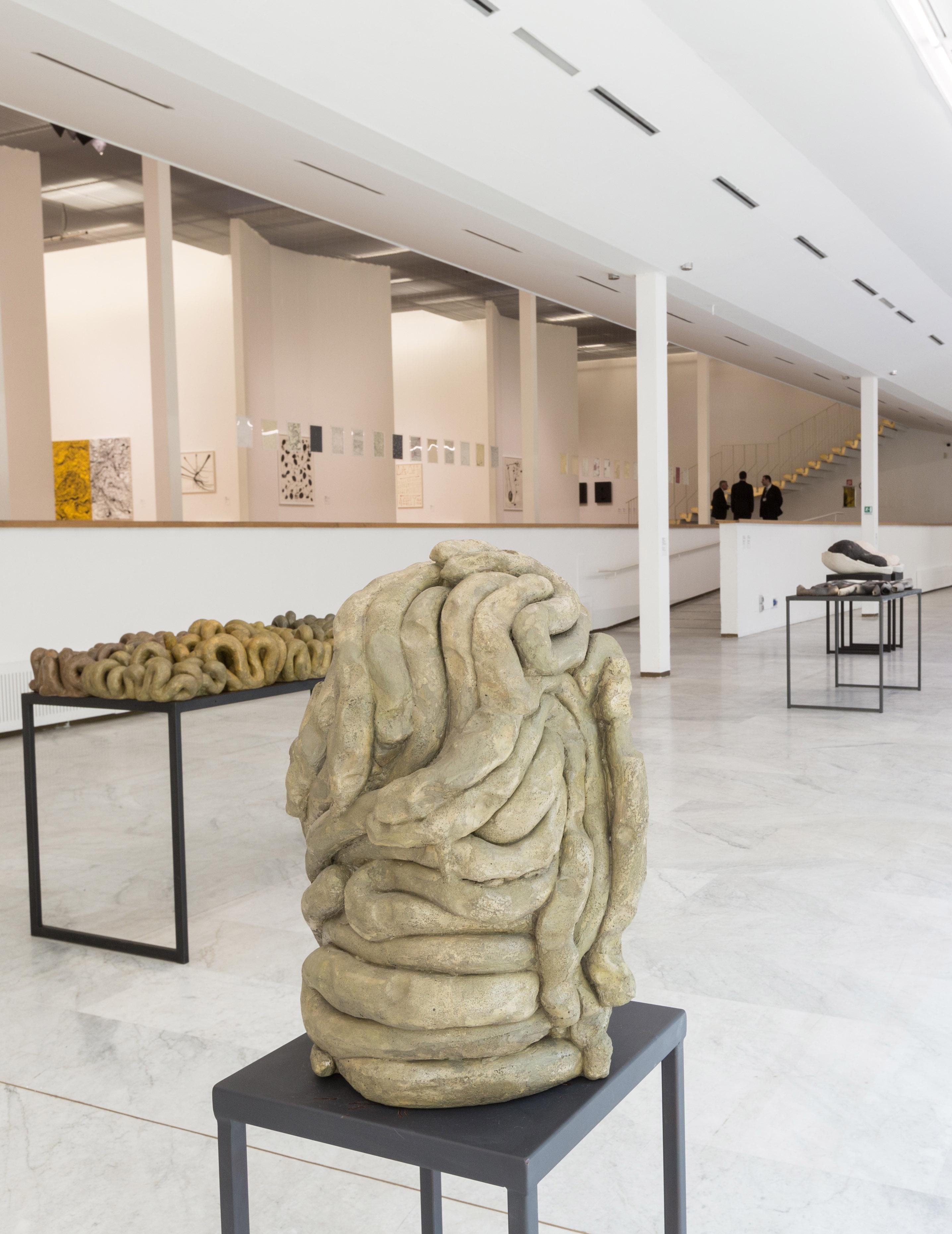Anna Maria Maiolino, vista della mostra al PAC Milano, 2019. Foto: Nico Covre, Vulcano