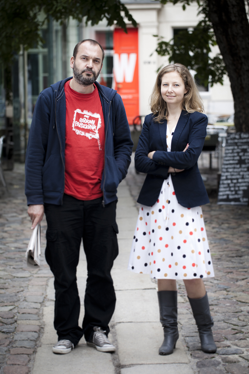 Artur Zmijewski, Anna Warsza (Photo: Anna Eckhold)