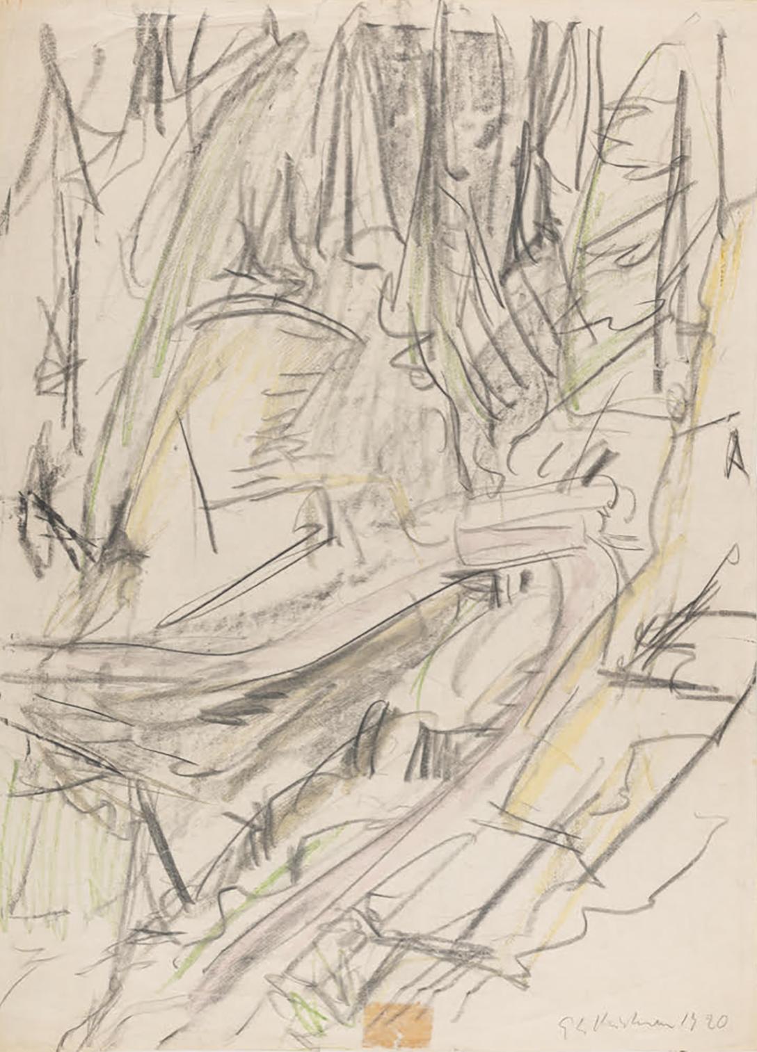 Ernst Ludwig Kirchner, Bergbach mit Brücke, Suzibach bei Davos, 1920 Kirchner Museum Davos, Schenkung Nachlass Ernst Ludwig Kirchner 1994 Foto: Stephan Bösch
