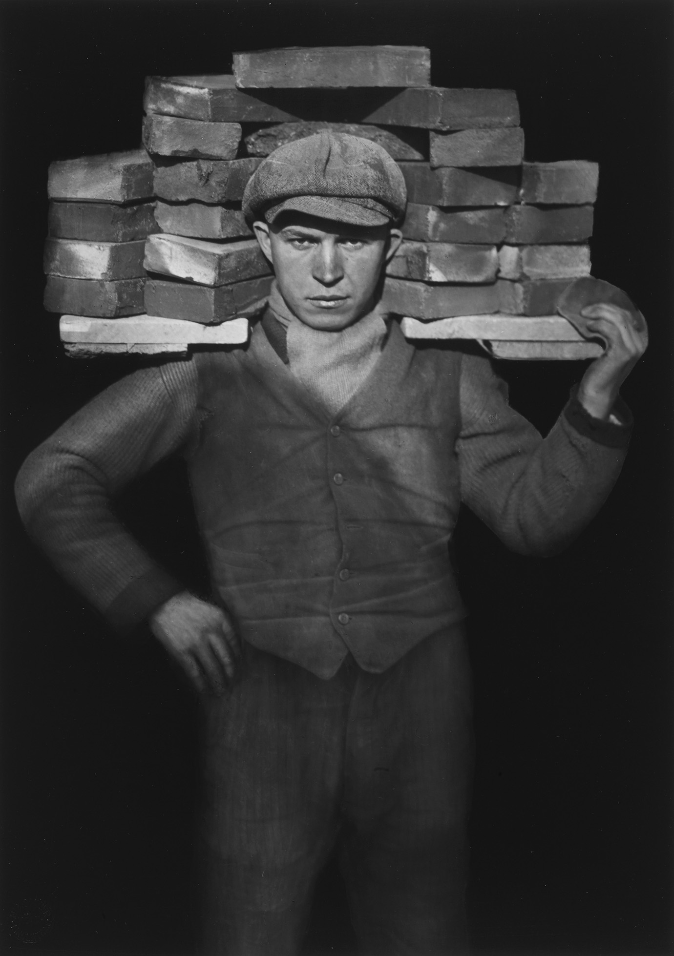 August Sander, Handlanger, 1928