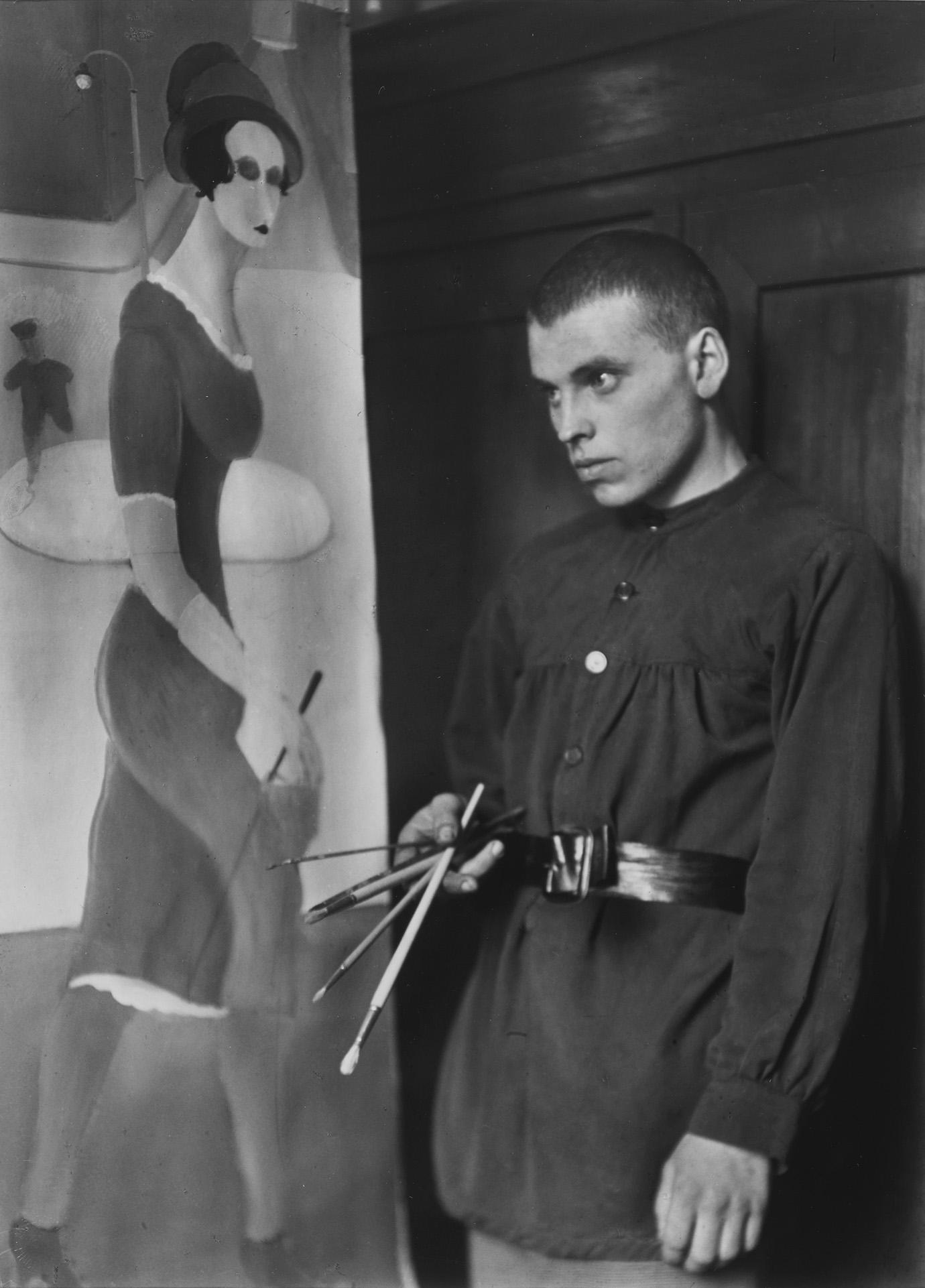 August Sander, Maler, 1924 (Gottfried Brockmann)