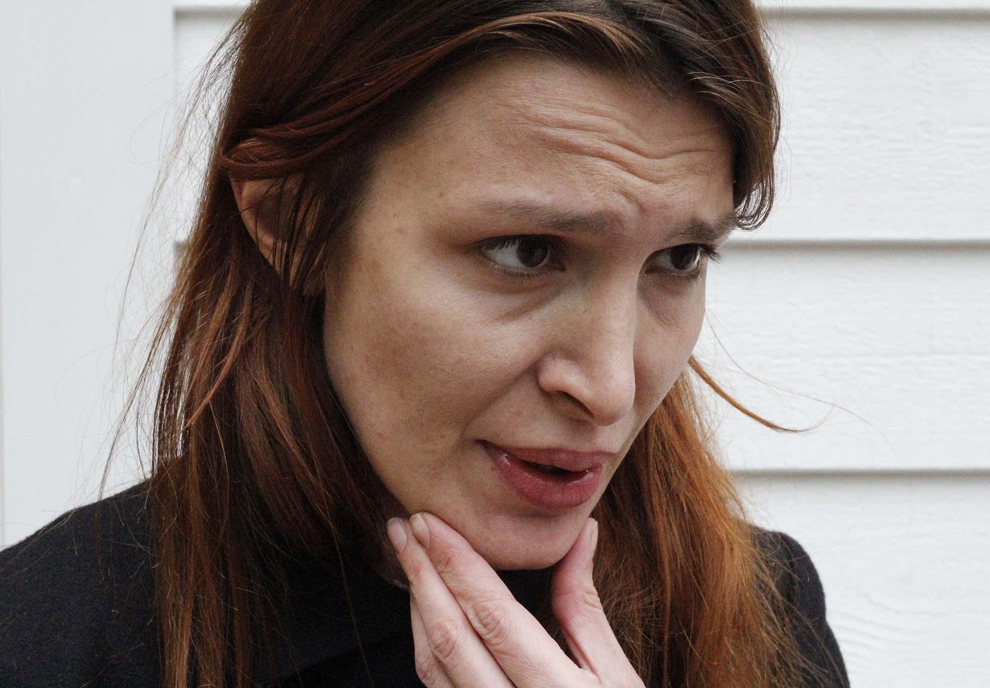 Chiara Fumai, artist (Photo: Paolo Bergmann)