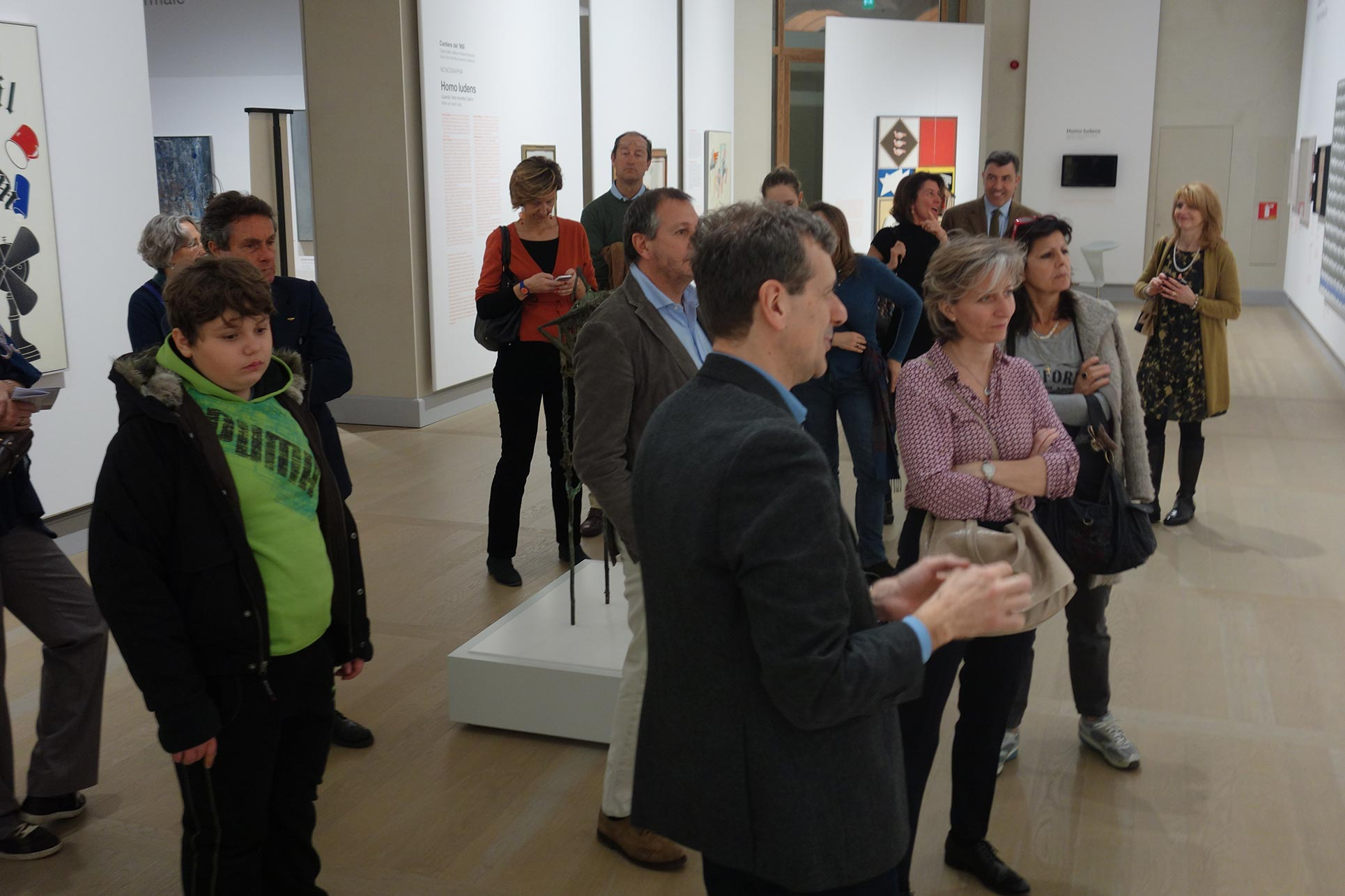 Guided tour with Francesco Tedeschi curator at