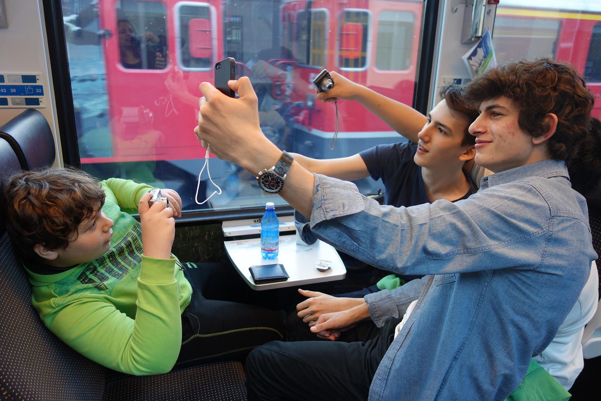 Series of Selfies (Photo: Barbara Fässler)