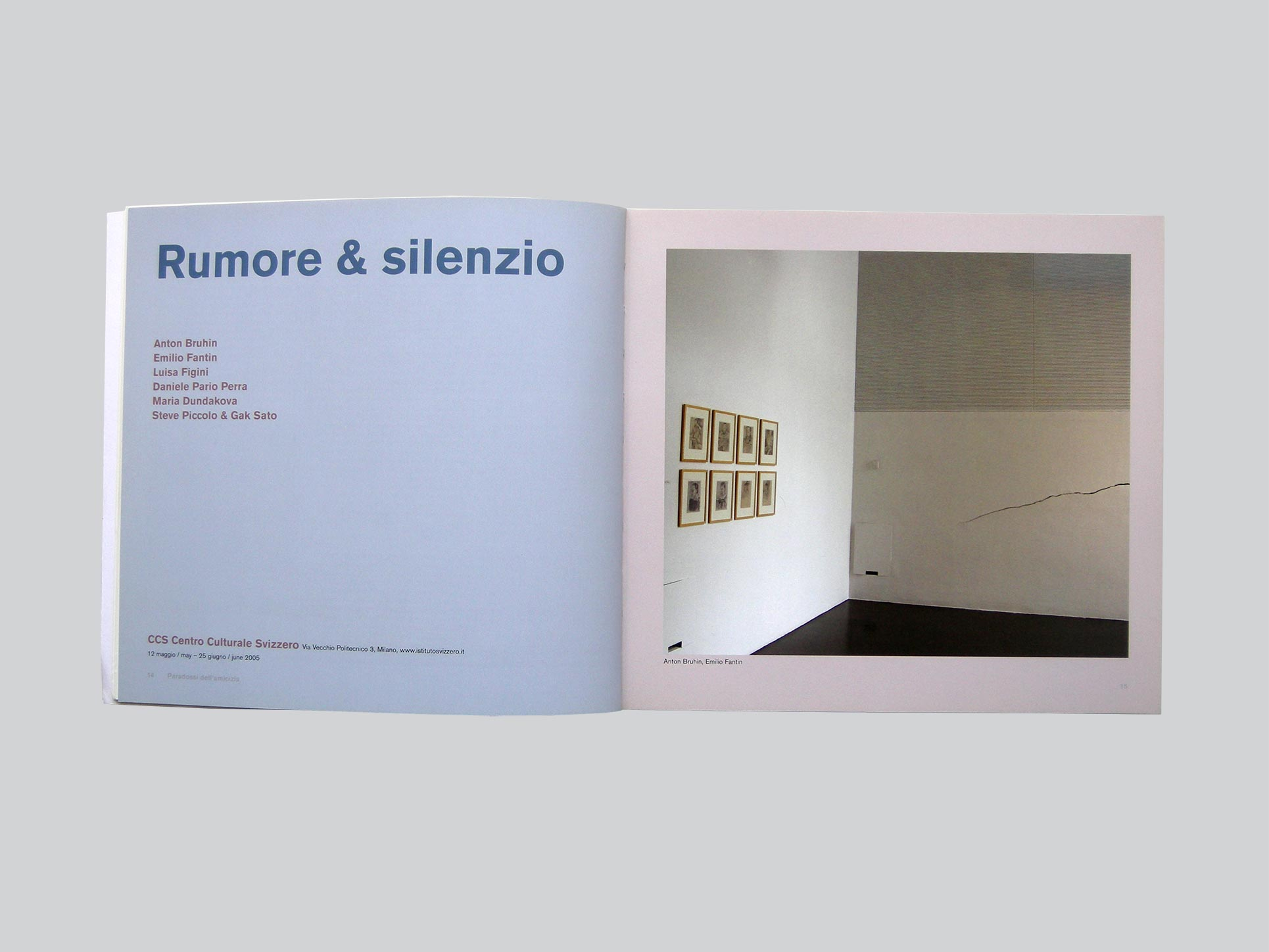 Exhibition's catalogue
