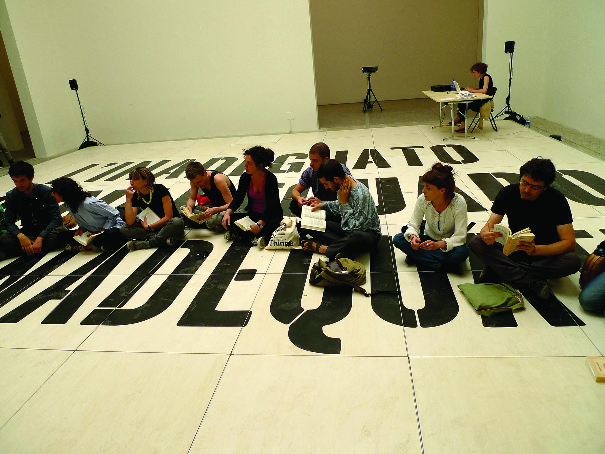 Dora Garcia, Spanish Pavillon on the Venice Biennial 2011 (Photo: Barbara Fässler)