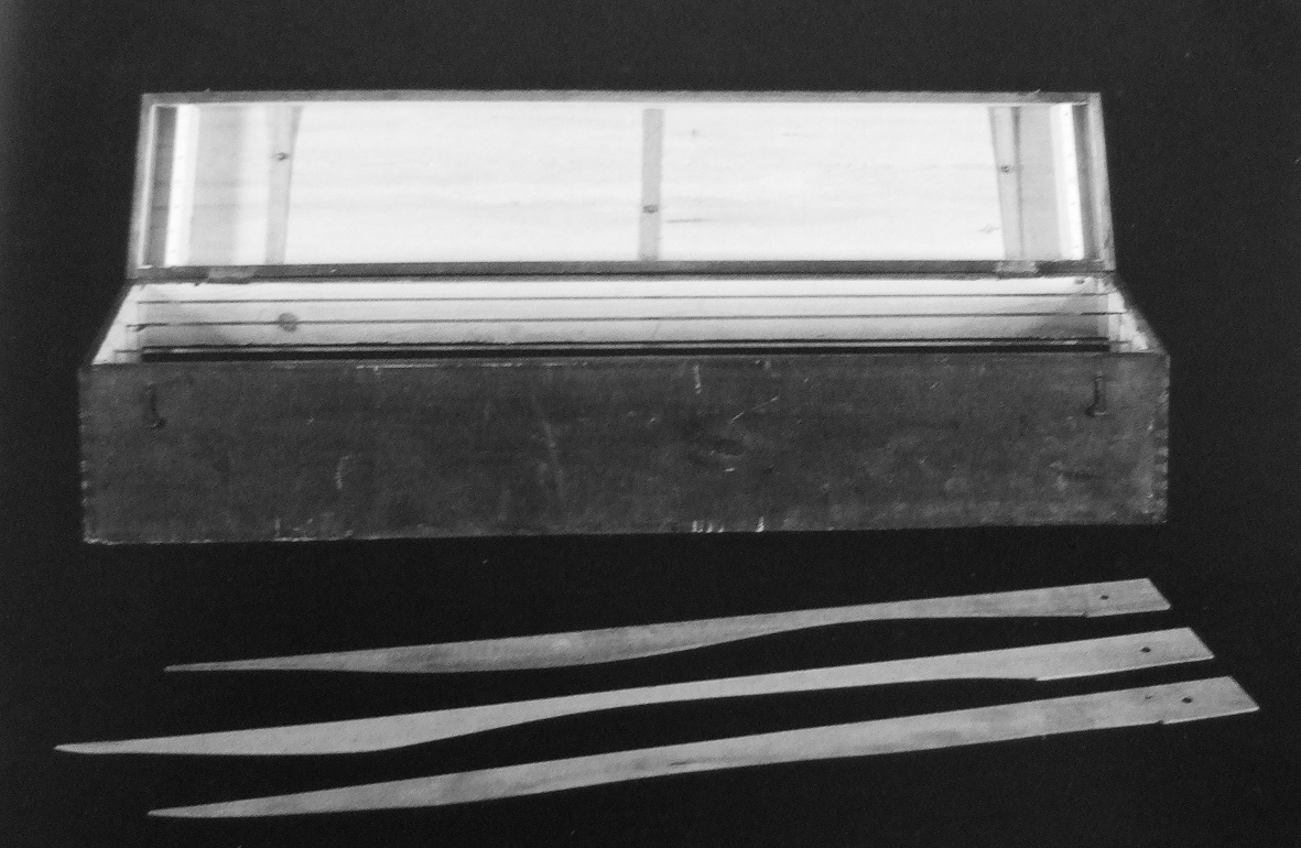 Marcel Duchamp, 3 Stoppages Étalons, 1913-14