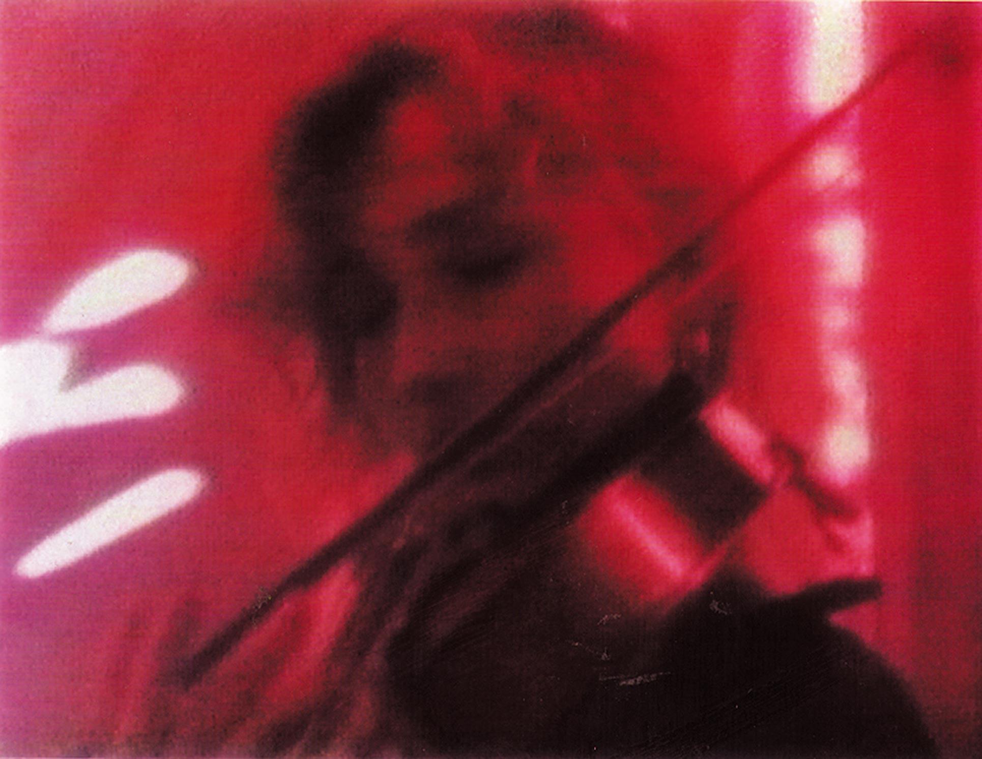 Redetour, Eindhoven videostill, Charlotte Hug playing violin