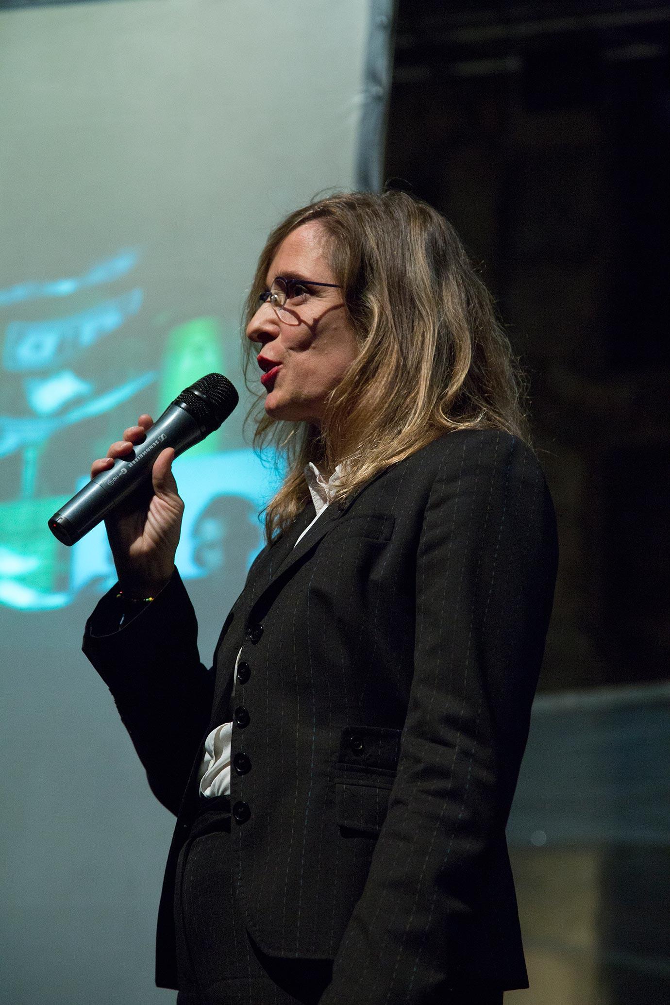 Barbara Fässler (Photo: Elena Sconfinetti)