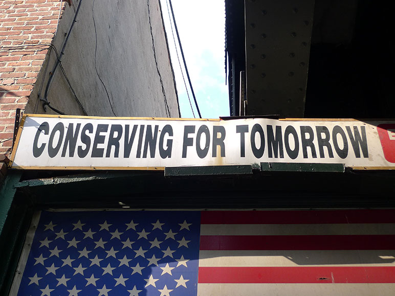 Conserving for tomorrow, Chelsea, New York (Photo: Barbara Fässler)