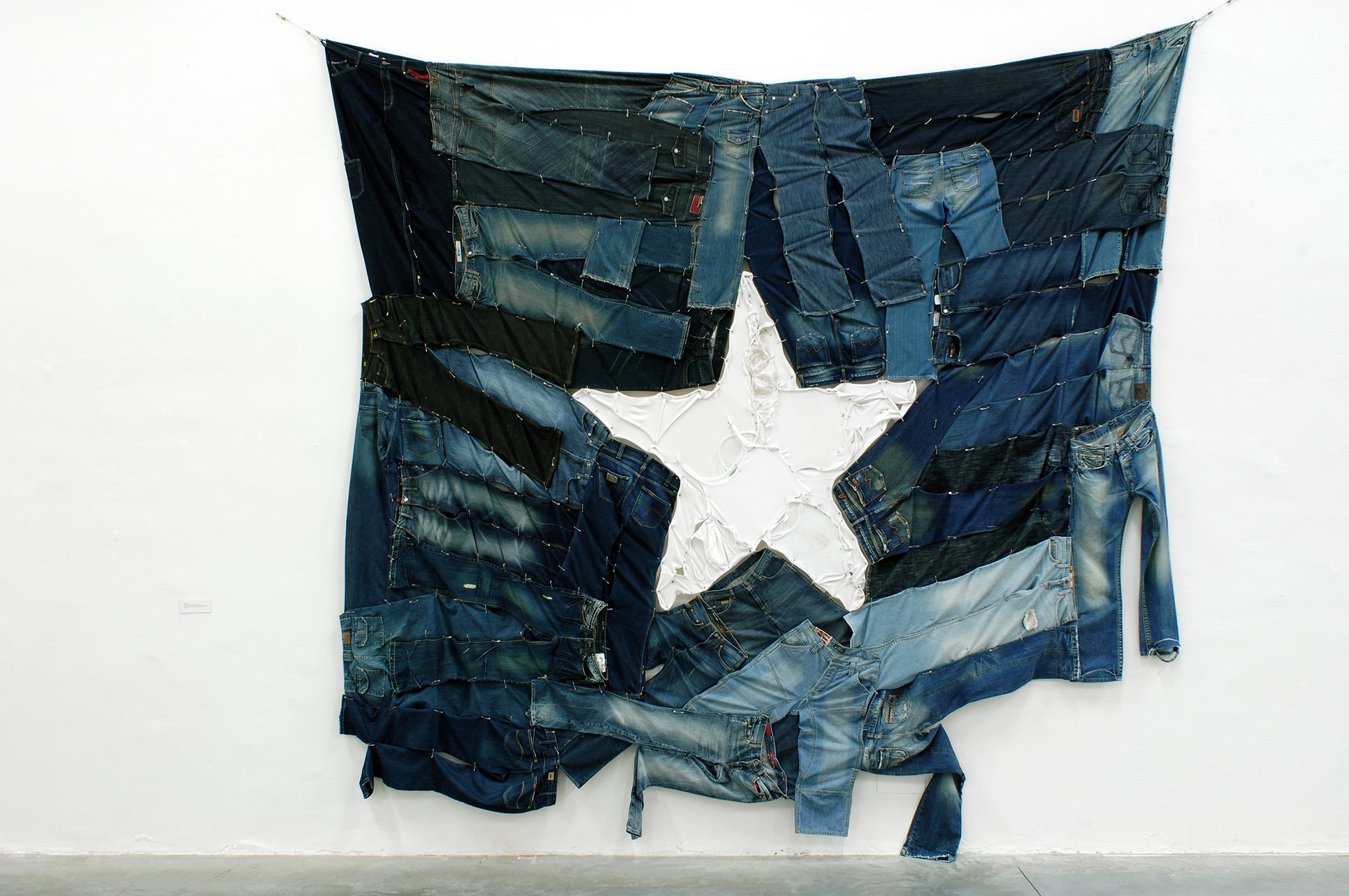 Costa Vece, This is not America (Lone Star Flag), 2005