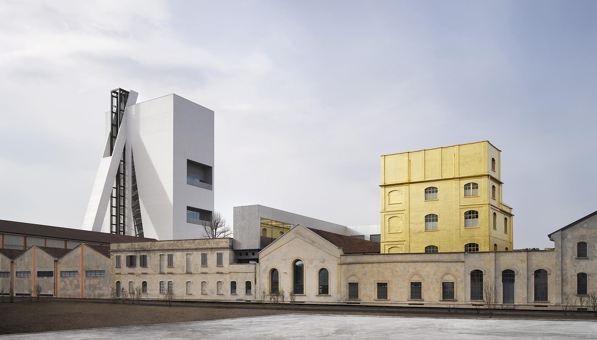 Torre Fondazione Prada, Milan, Architectural project by OMA (Foto: Bas Princen), Courtesy Fondazione Prada