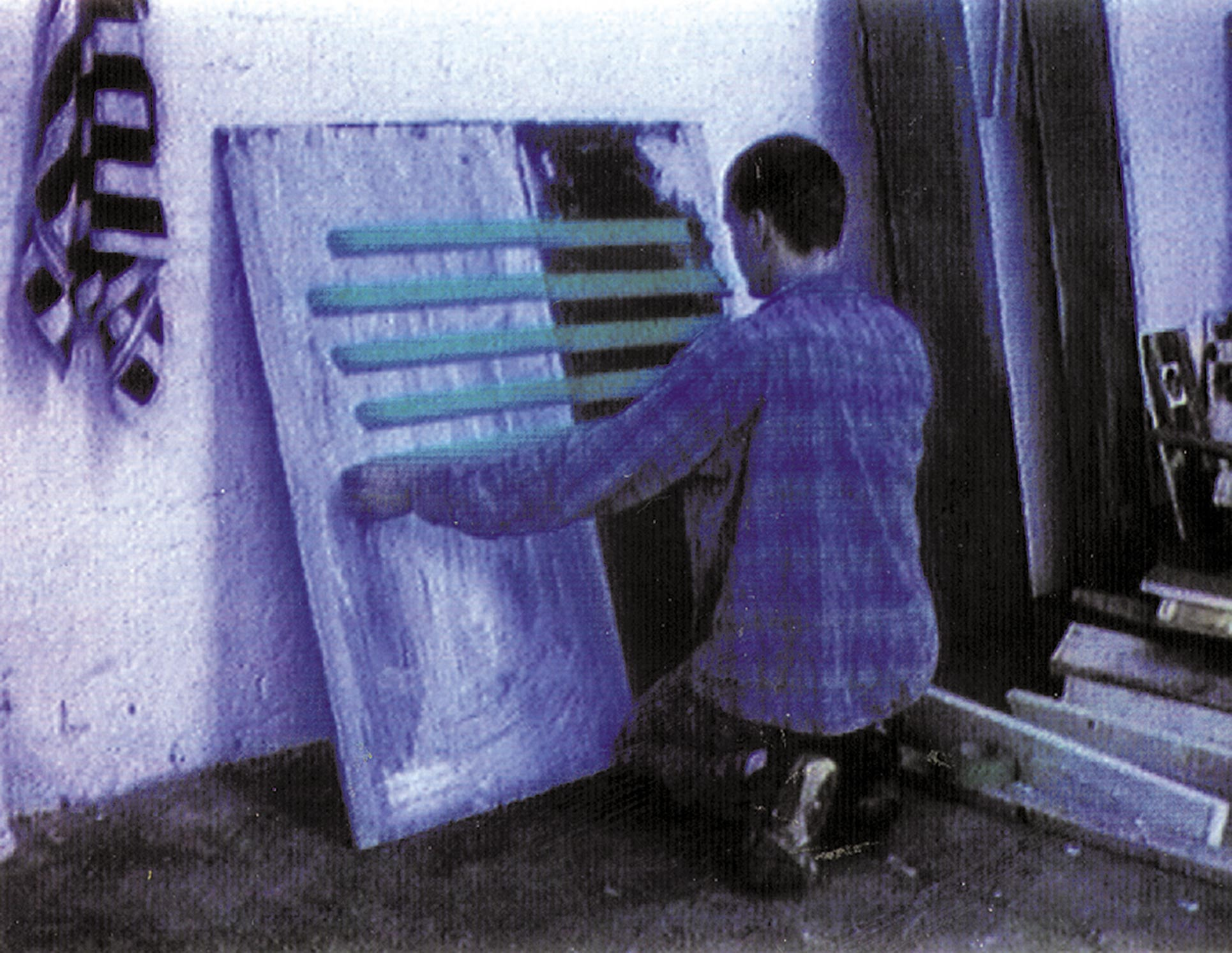 Redetour, Frauenfeld videostill, artist painting