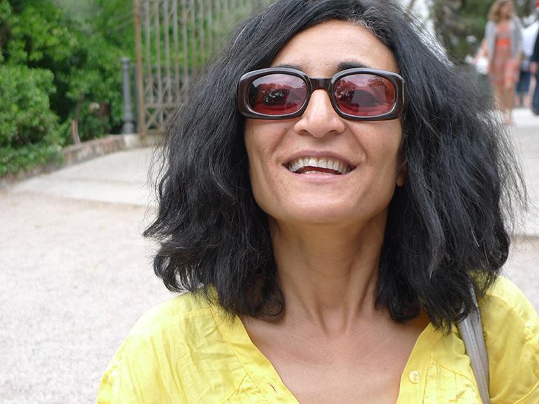 Ghada Amer, artist (Photo: Zane Oborenko)