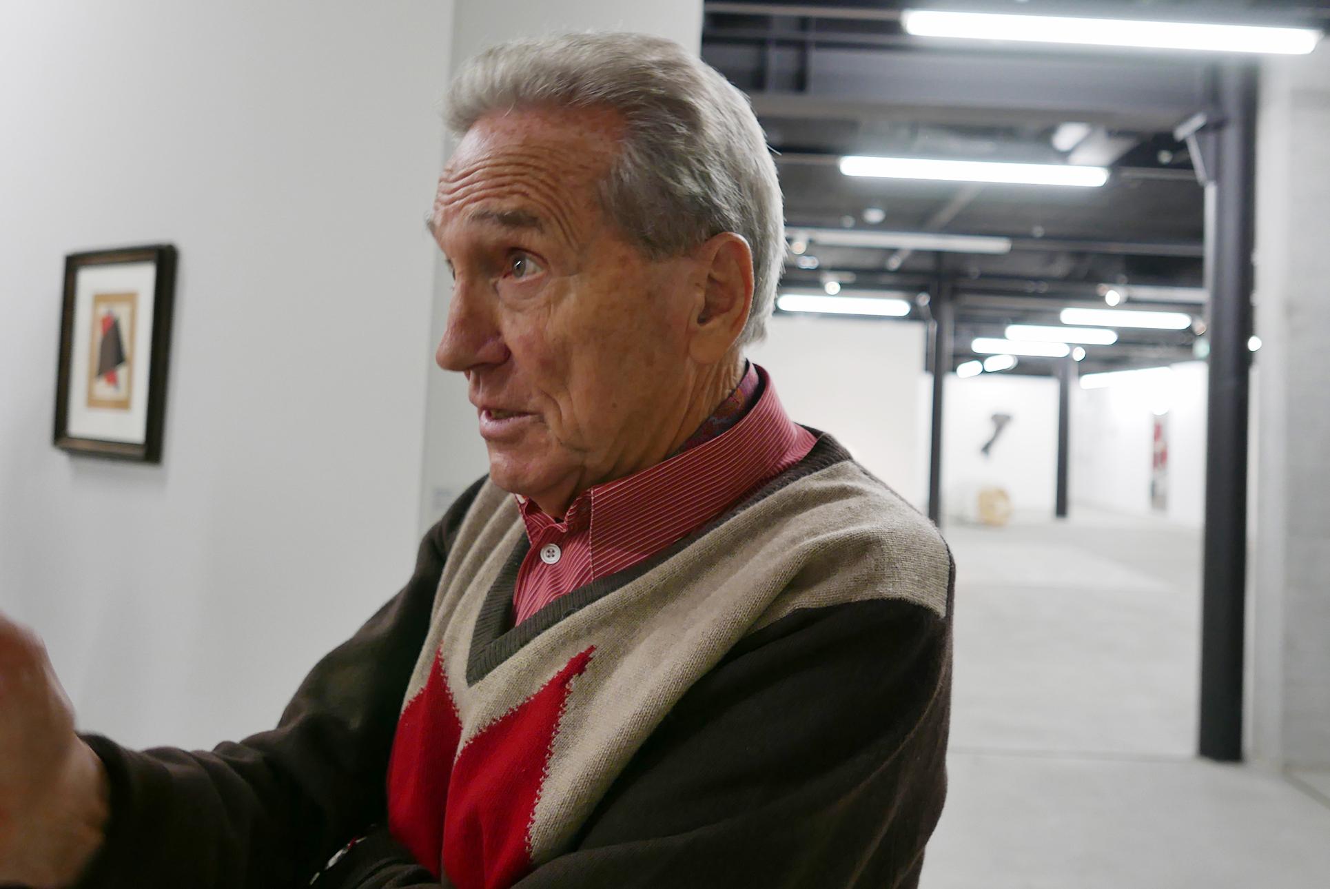 Der Sammler Giancarlo Olgiati (Foto: Barbara Fässler)