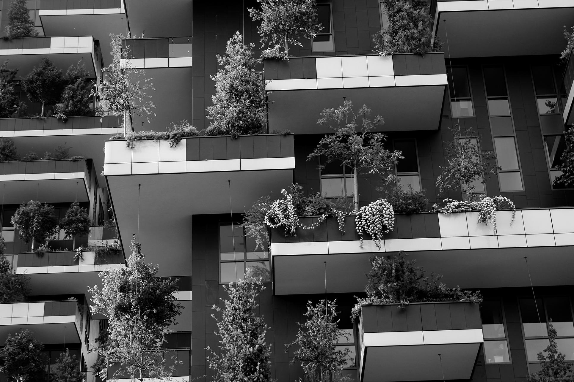 Il bosco verticale, Milano (Foto: Barbara Fässler)