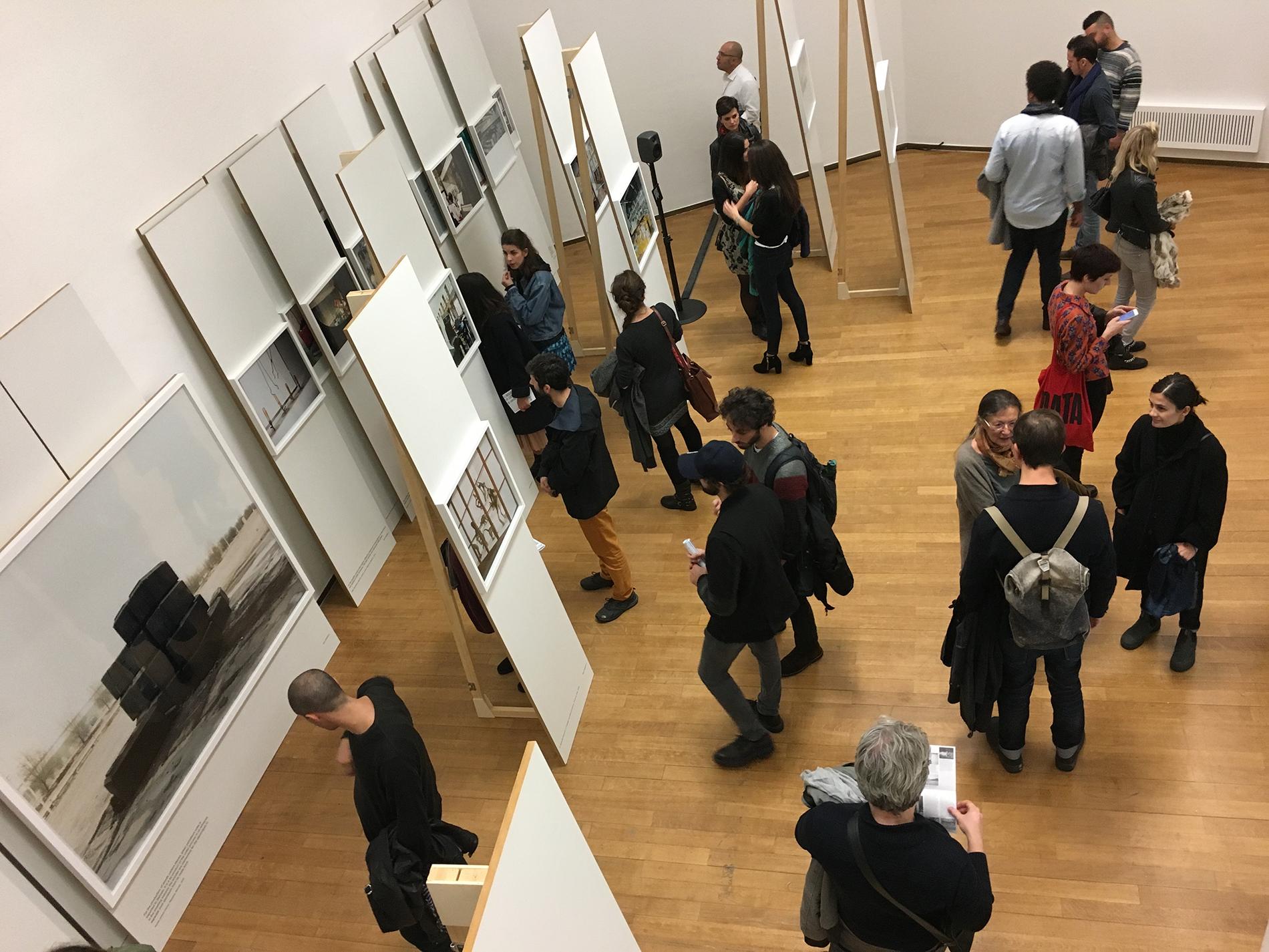 Armin Linke, Ausstellungsansicht PAC (Foto: Barbara Fässler)