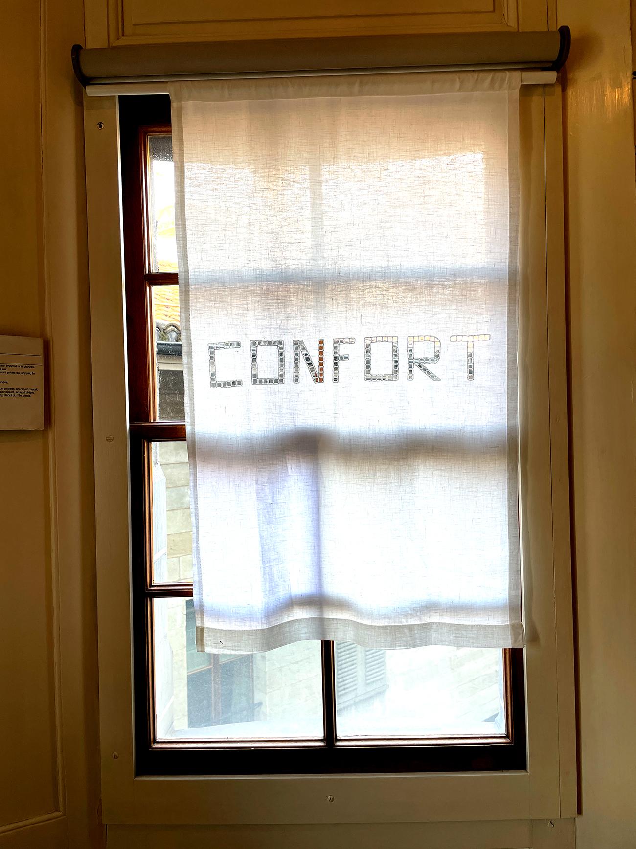 Stefano Boccalini, <La ragione nelle mani>, Ausstellungsansicht, Maison Tavel, Genf (Foto: Barbara Fässler)