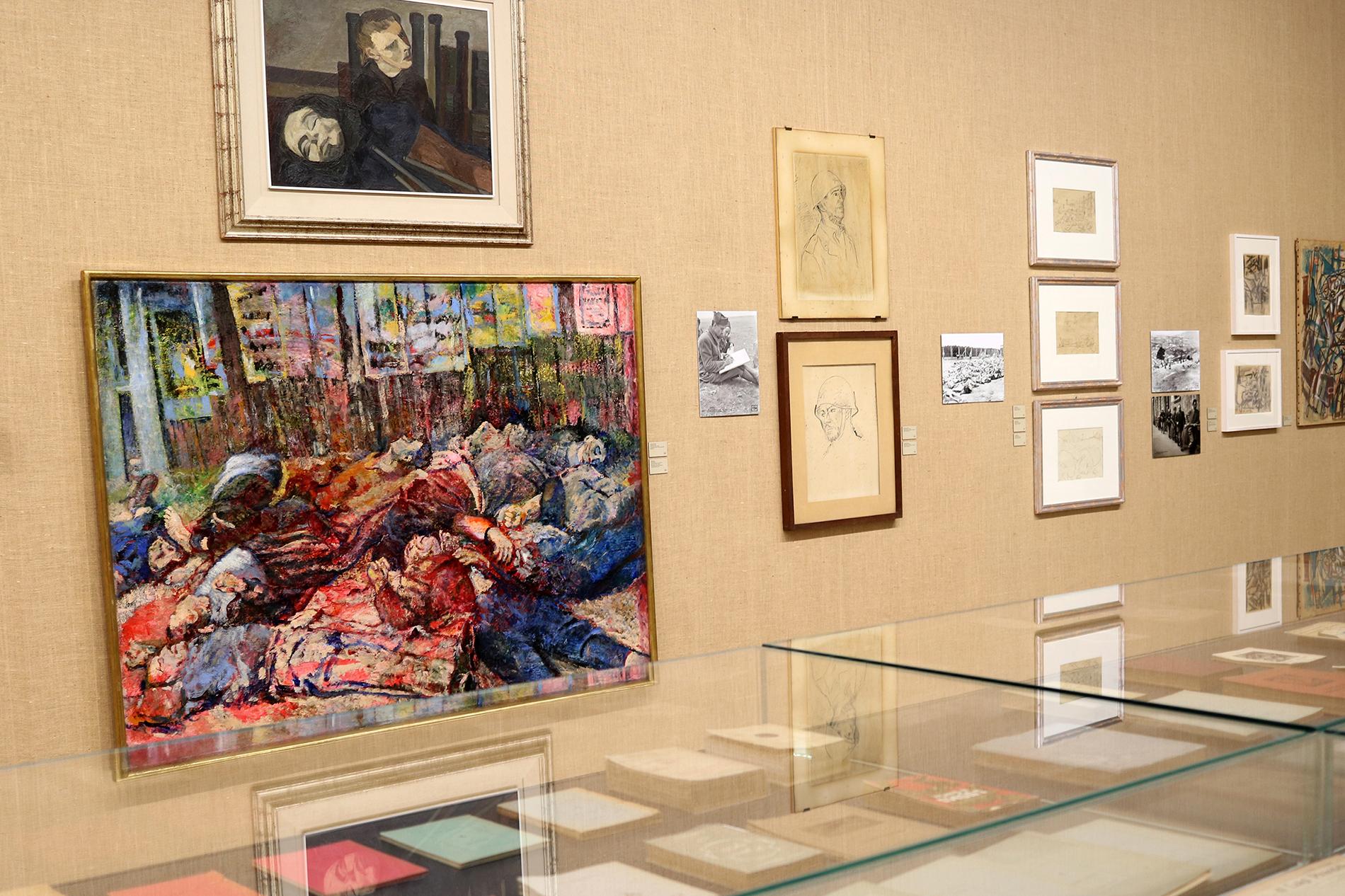 Ausstellungsansicht, Post Zang Tumb Tuuum. Art Life Politics: Italia 1918-1943 (Foto: Barbara Fässler), Fondazione Prada, Milano