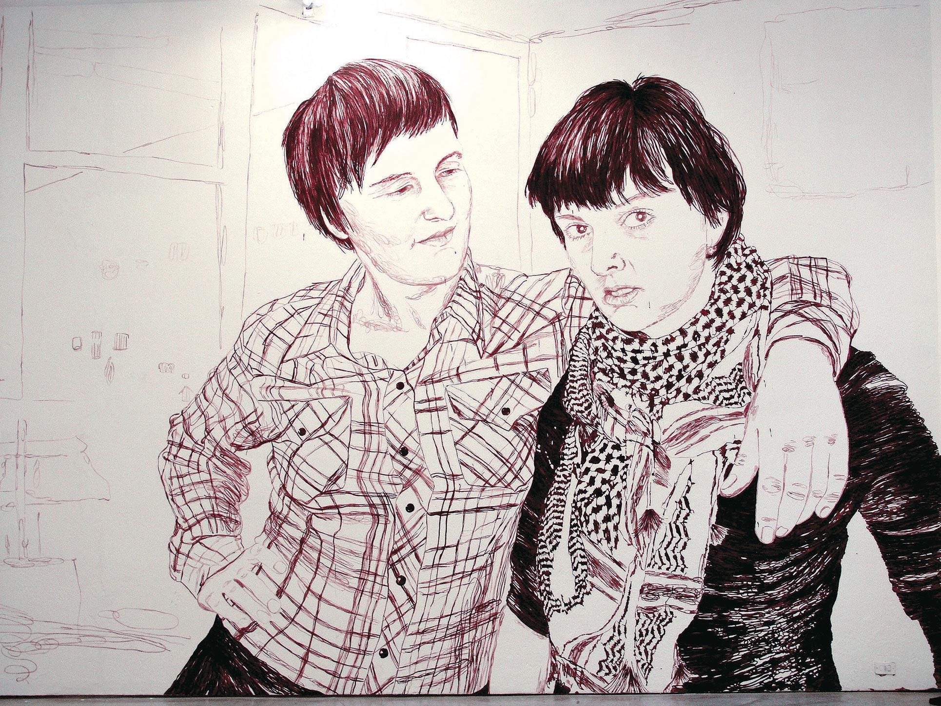Claudia & Julia Müller, My big sister, 2005