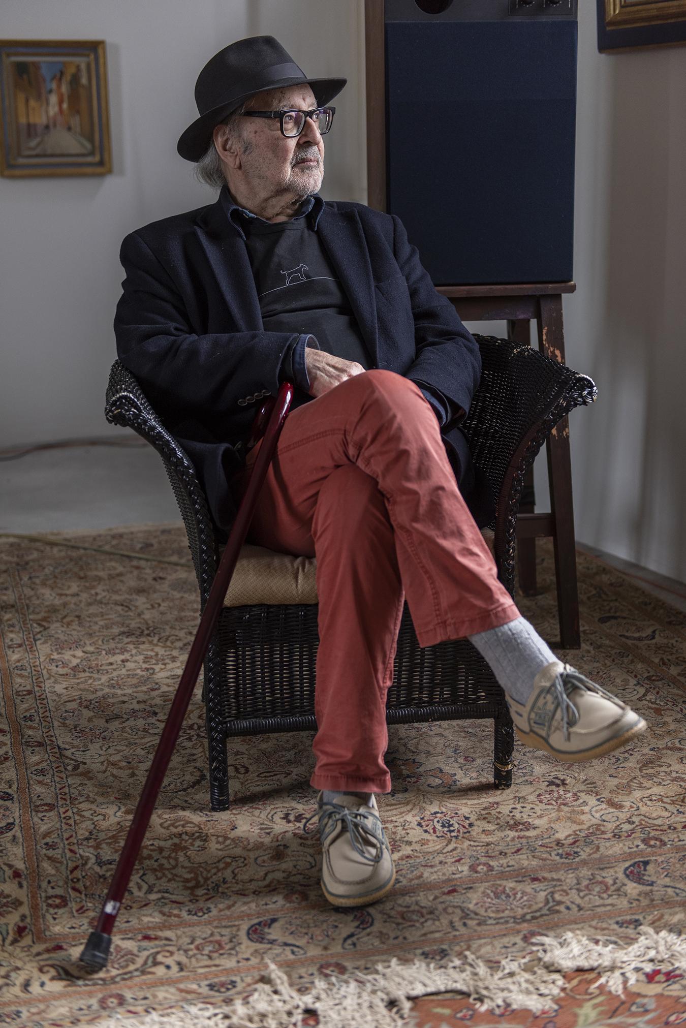 Jean-Luc Godard, Foto: Niccolò Quaresima
