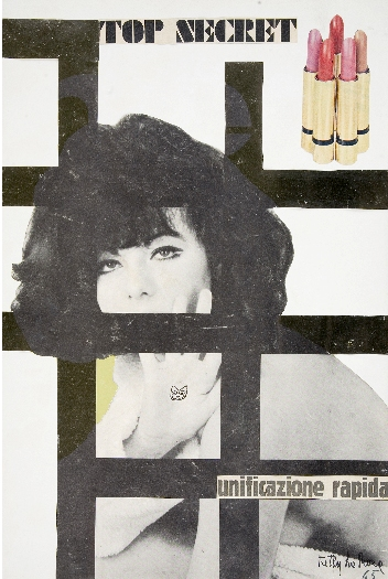 Ketty La Rocca, Top Secret, 1965