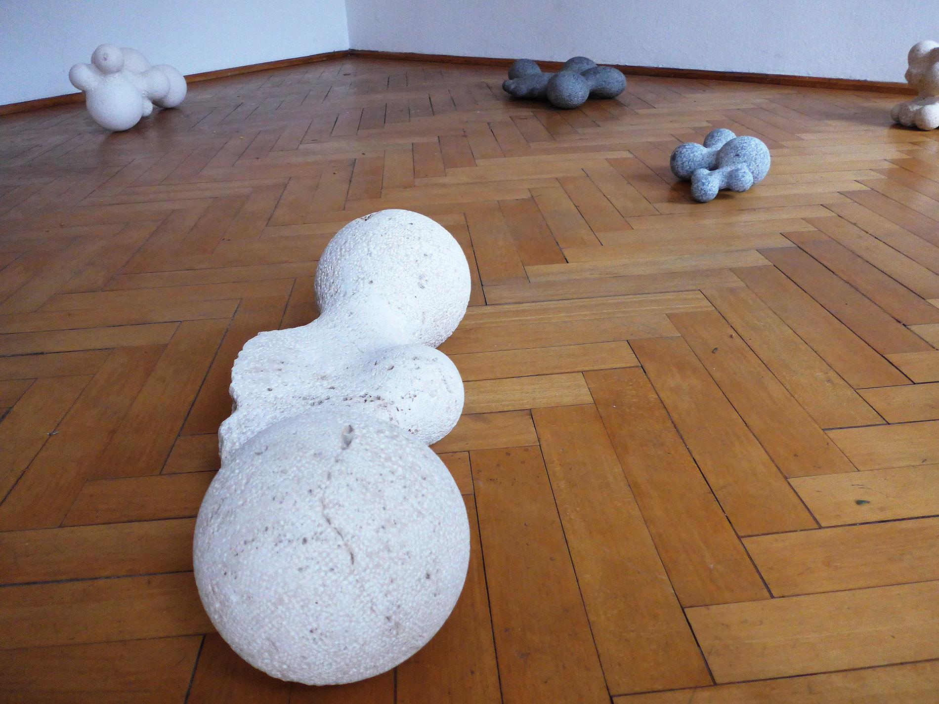 Ausstellungsansicht, Martin Schneider, Galerie Zellweger Arte Contemporanea, Lugano (Foto: Barbara Fässler)