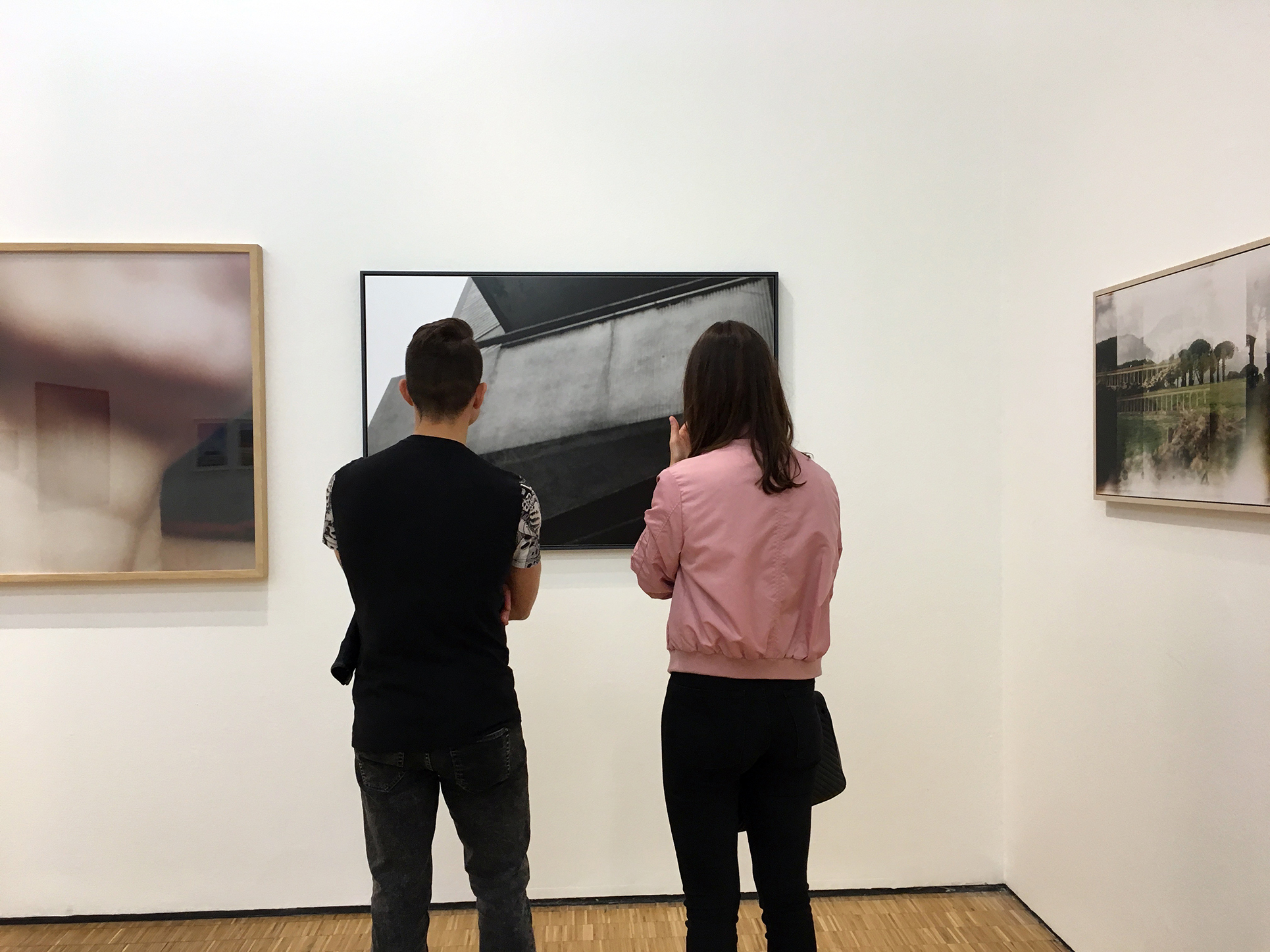 L'altro sguardo, Triennale di Milano, visione della mostra, 2016 (Foto Barbara Fässler)