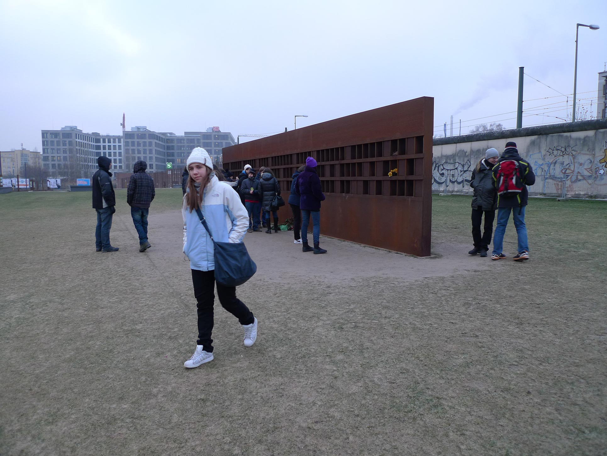 The Wall Memorial at Bernauer Strasse in Berlin Mitte (Photo: Barbara Fässler)