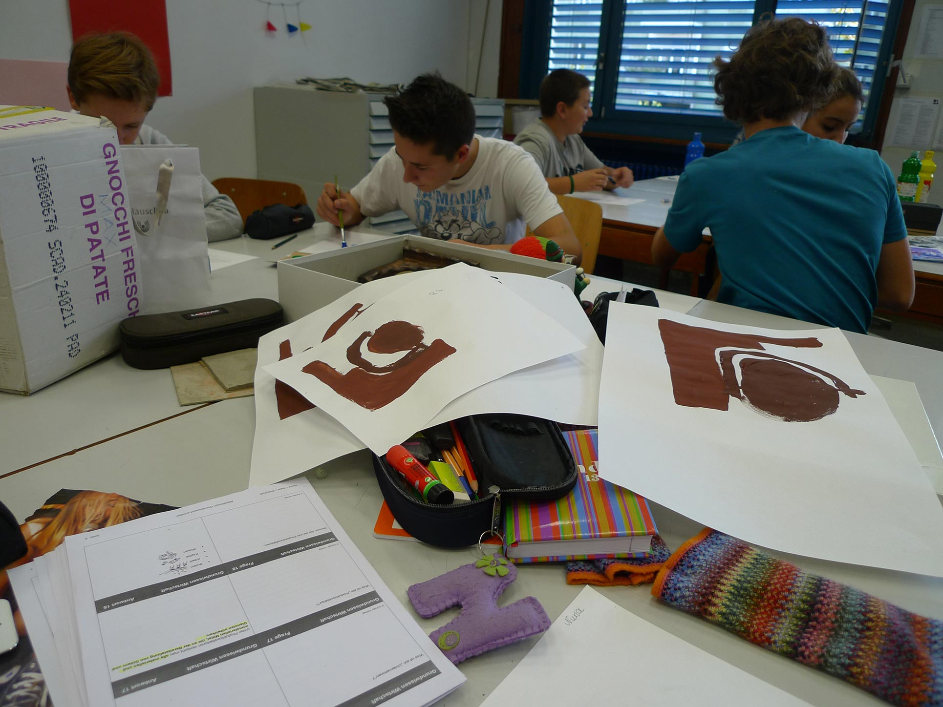 Year 9/10, Aesthetic Experience in Art Production, in relation to Helga Kämpf-Jansen's
