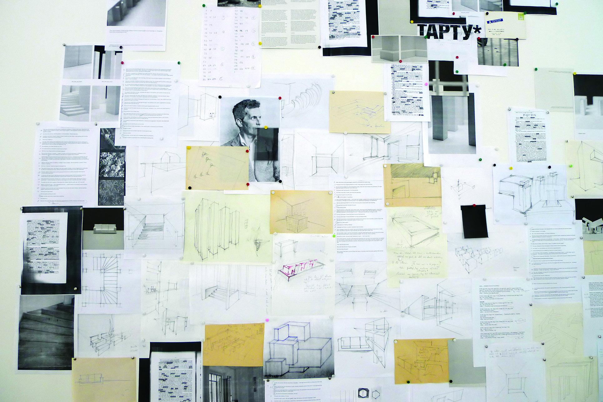 Dénes Farkas, Evident in Advance #006, Installation, Estonian Pavillon (Photo: Barbara Fässler)