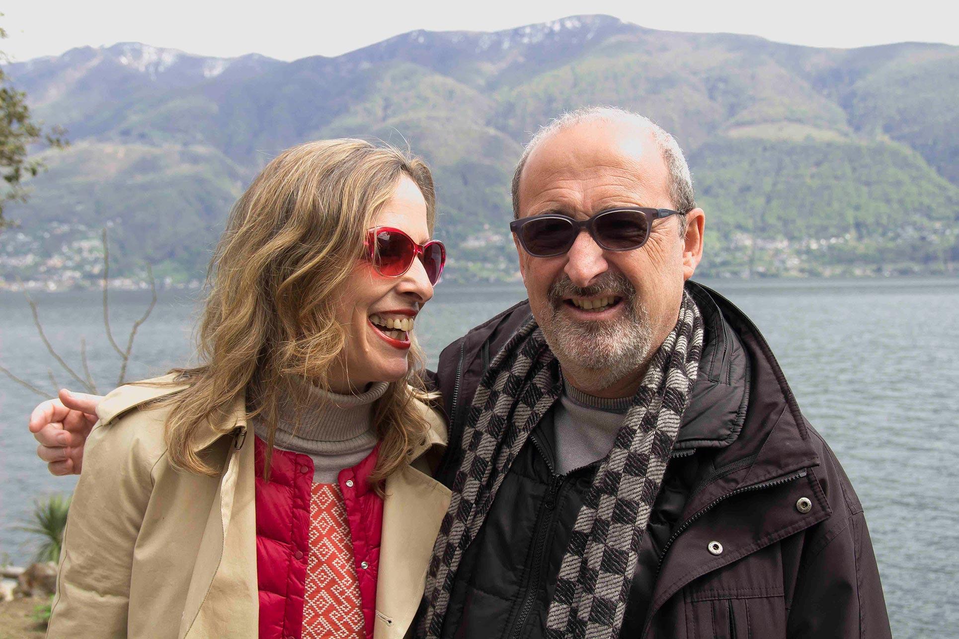 Barbara Fässler and Domenico Lucchini (Photo: Paolo Bergmann)