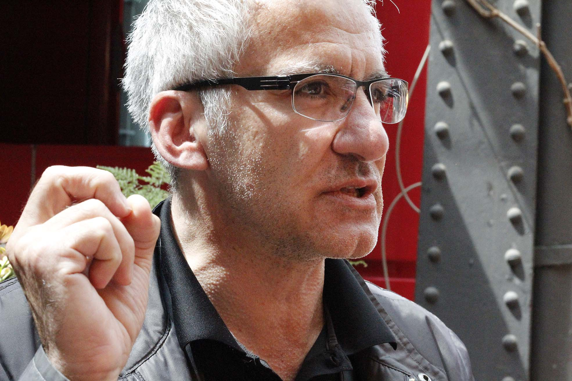 Paolo Bianchi, curator (Photo: Paolo Bergmann)