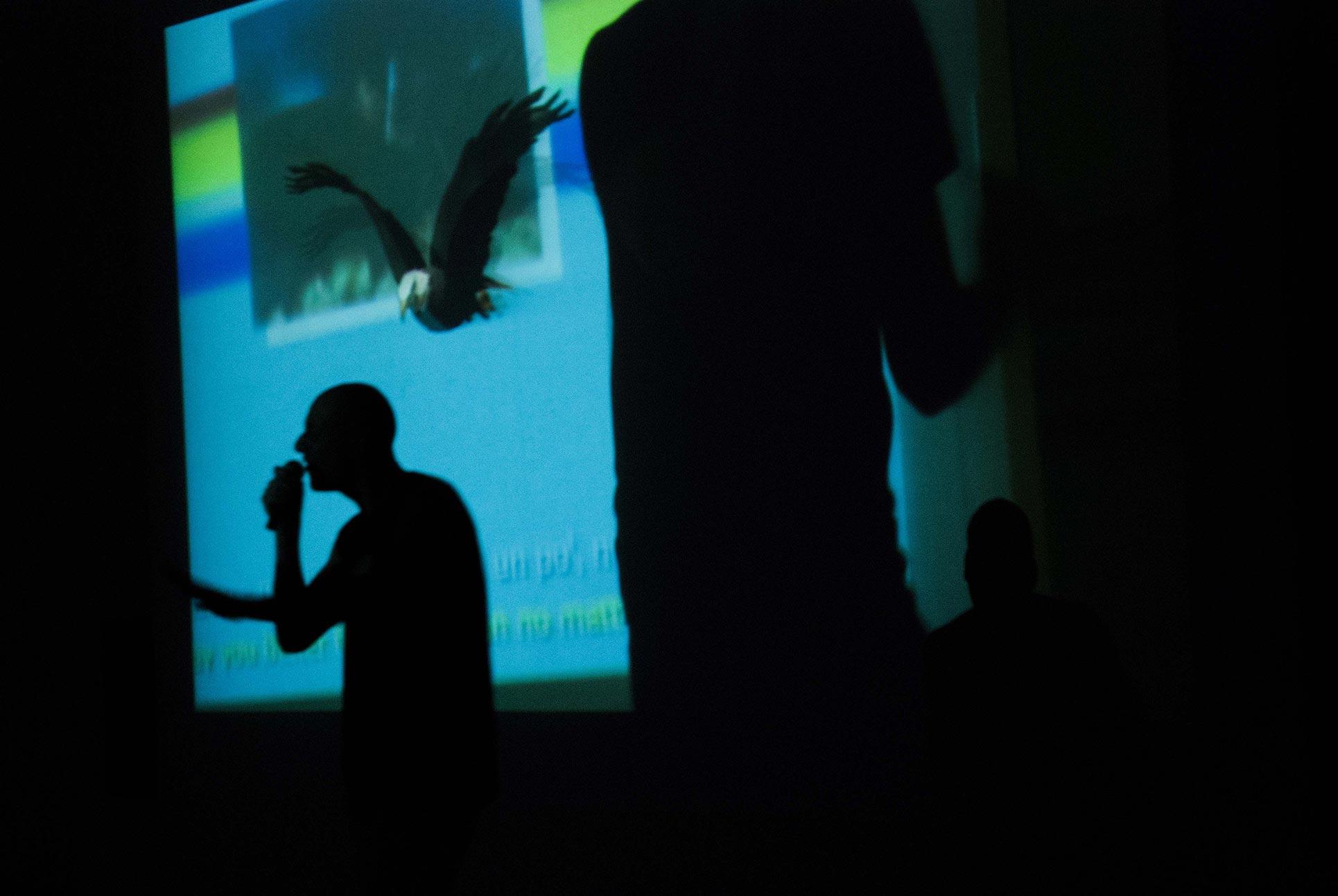 ArTransit, Performance Roberto Fassone, Viafarini (Photo: Anna Pfeiffer)