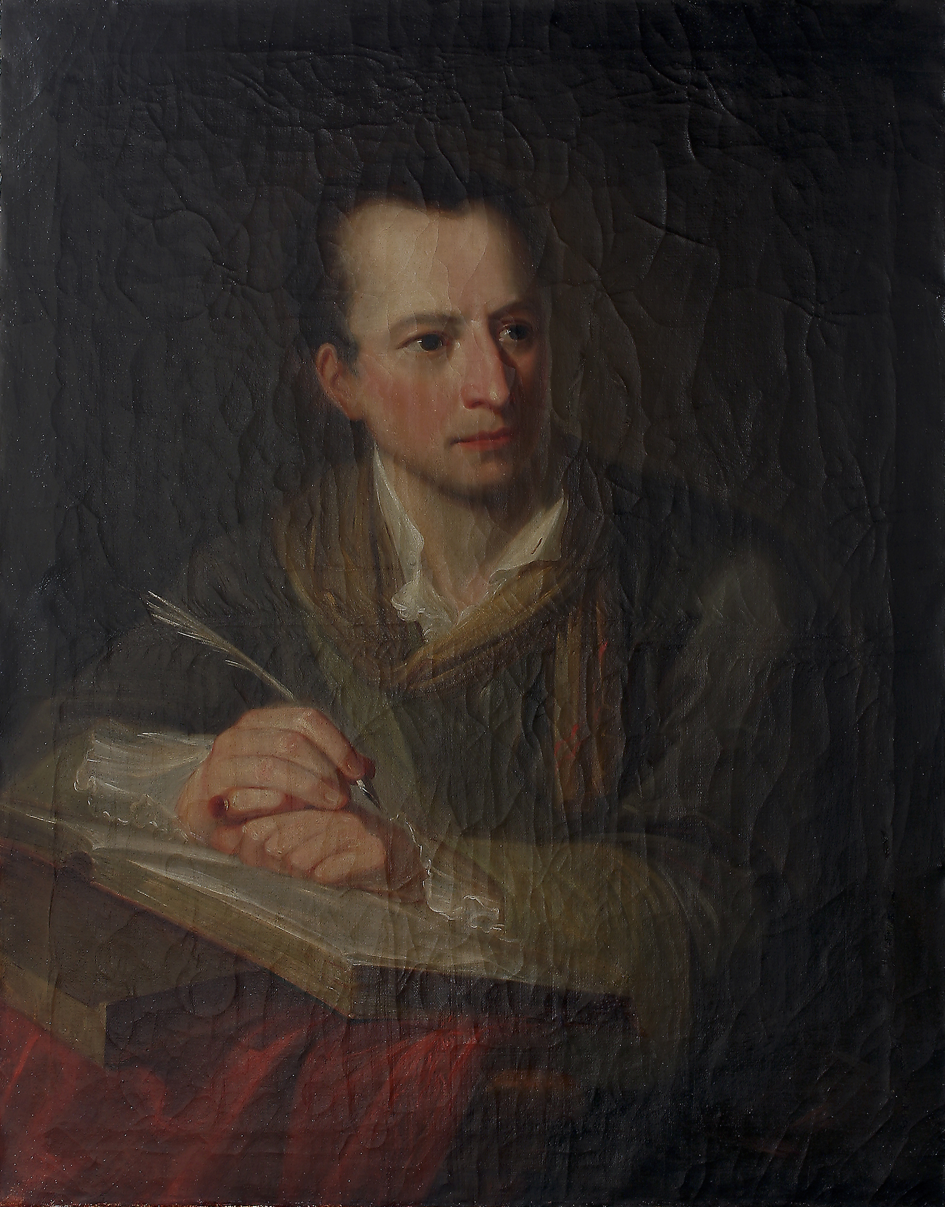 Atelier Angelika Kauffmann, Porträt von J.J. Winckelmann, 1764, Öl auf Leinwand, 81,5 x 62,5 cm, Kunsthaus Zürich