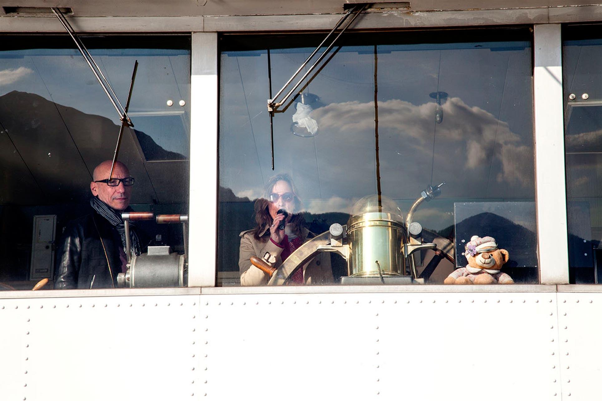 The captains Steve Piccolo and Barbara Fässler (Photo: Roberto Basile)