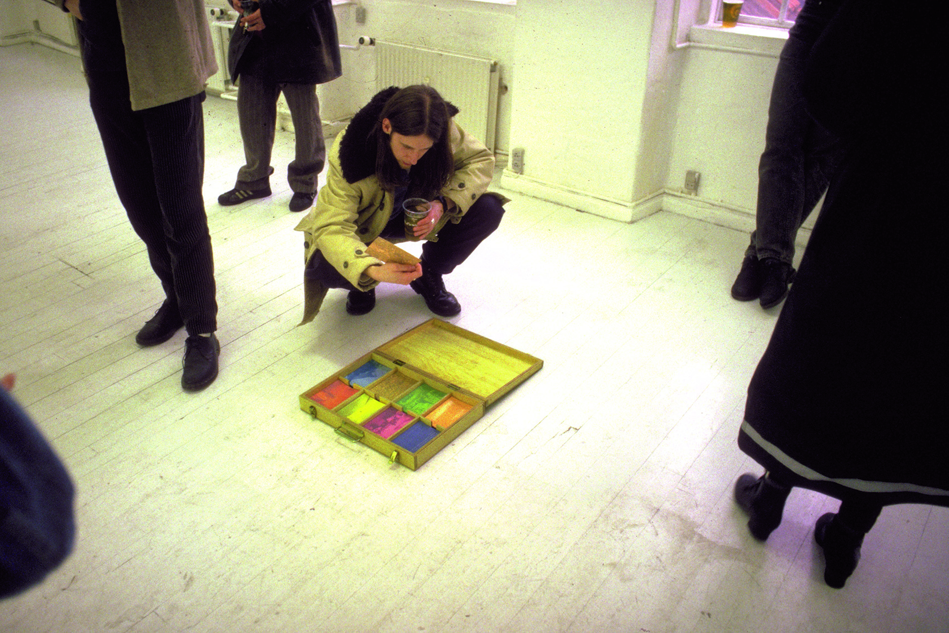 Saga Basement, Copenhagen, performance and installation, 1996