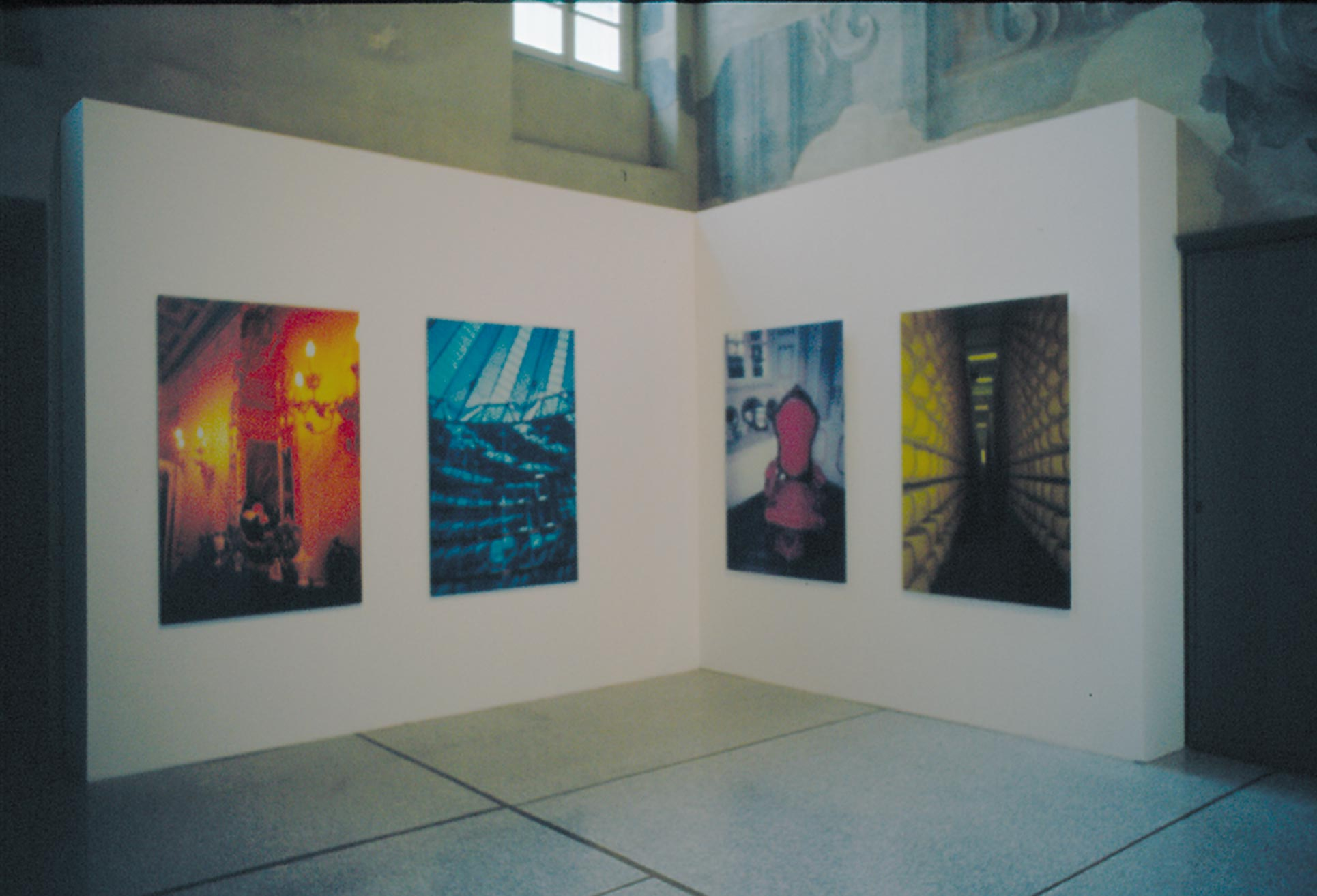 Exhibition view, San Pietro in Atrio Como,