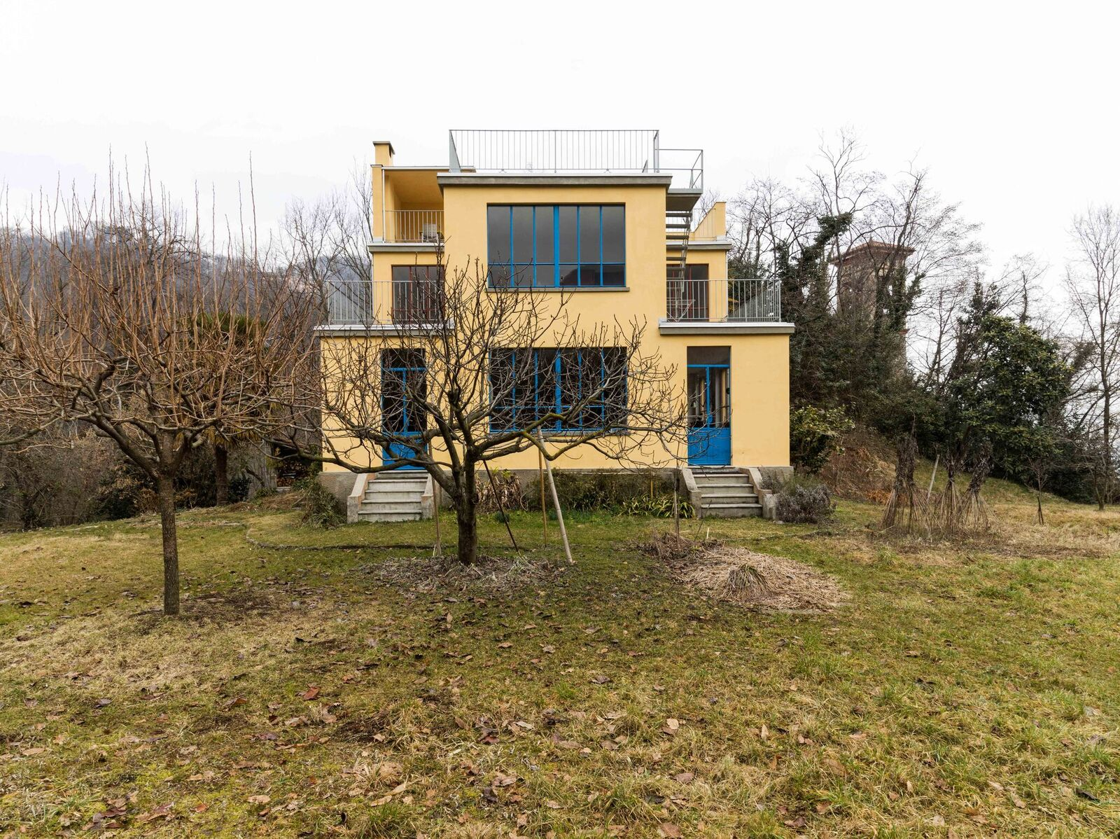 "Aussenansicht ""Casa Sciaredo"" in Barbengo, Lugano (Foto Claudio Bader)"