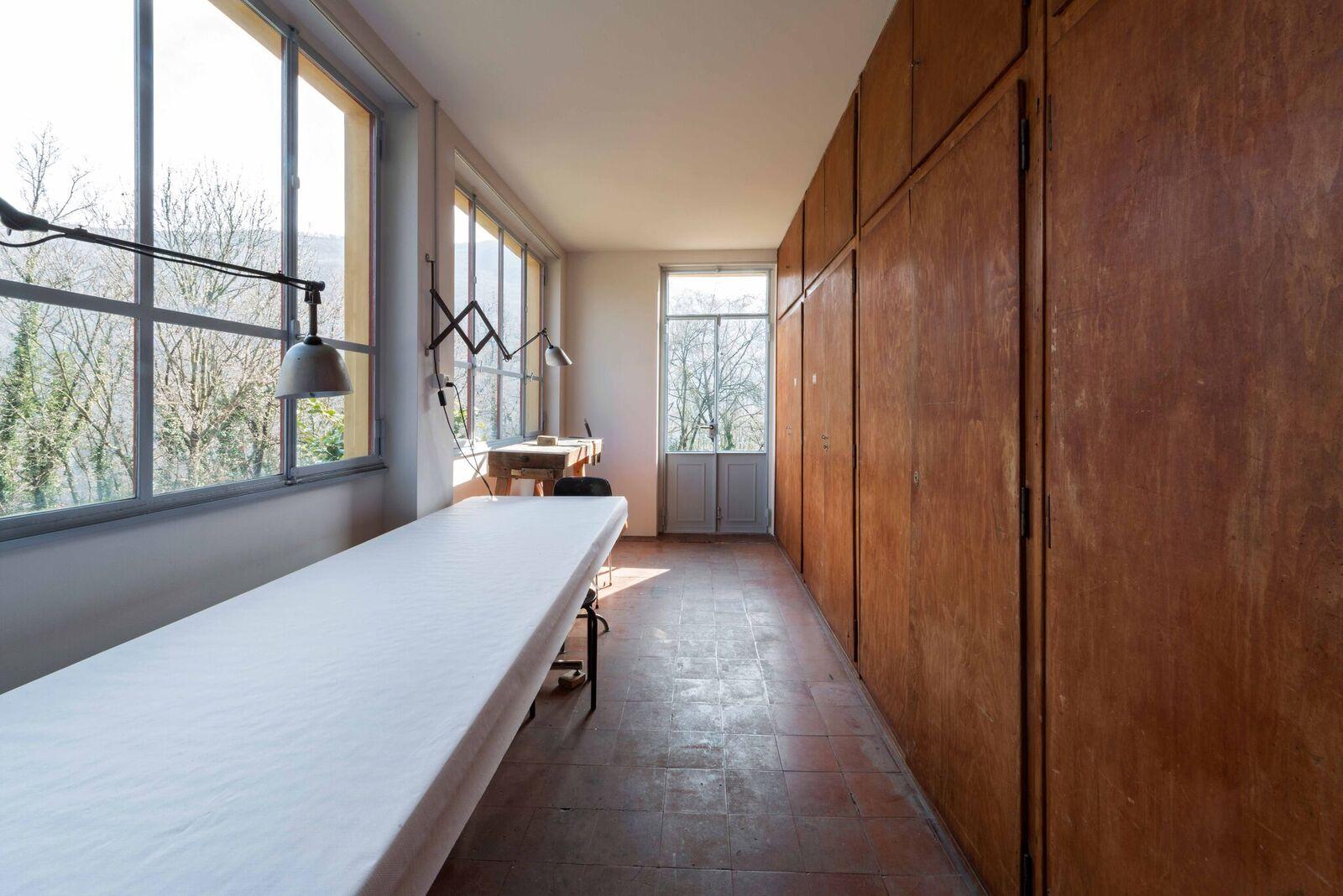 """Atelier """"Casa Sciaredo"""" in Barbengo, Lugano (Foto Claudio Bader)"""