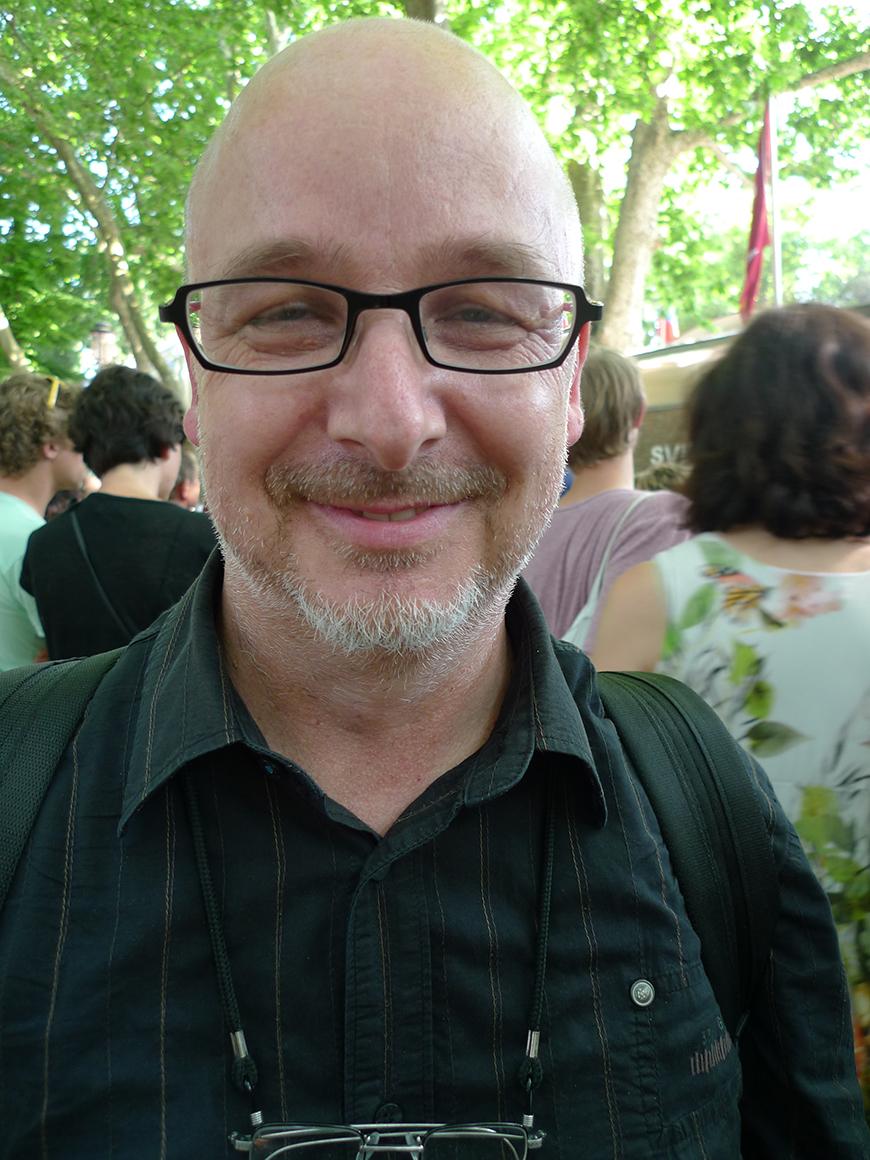 Stefan Banz, artist and curator (Photo: Barbara Fässler)